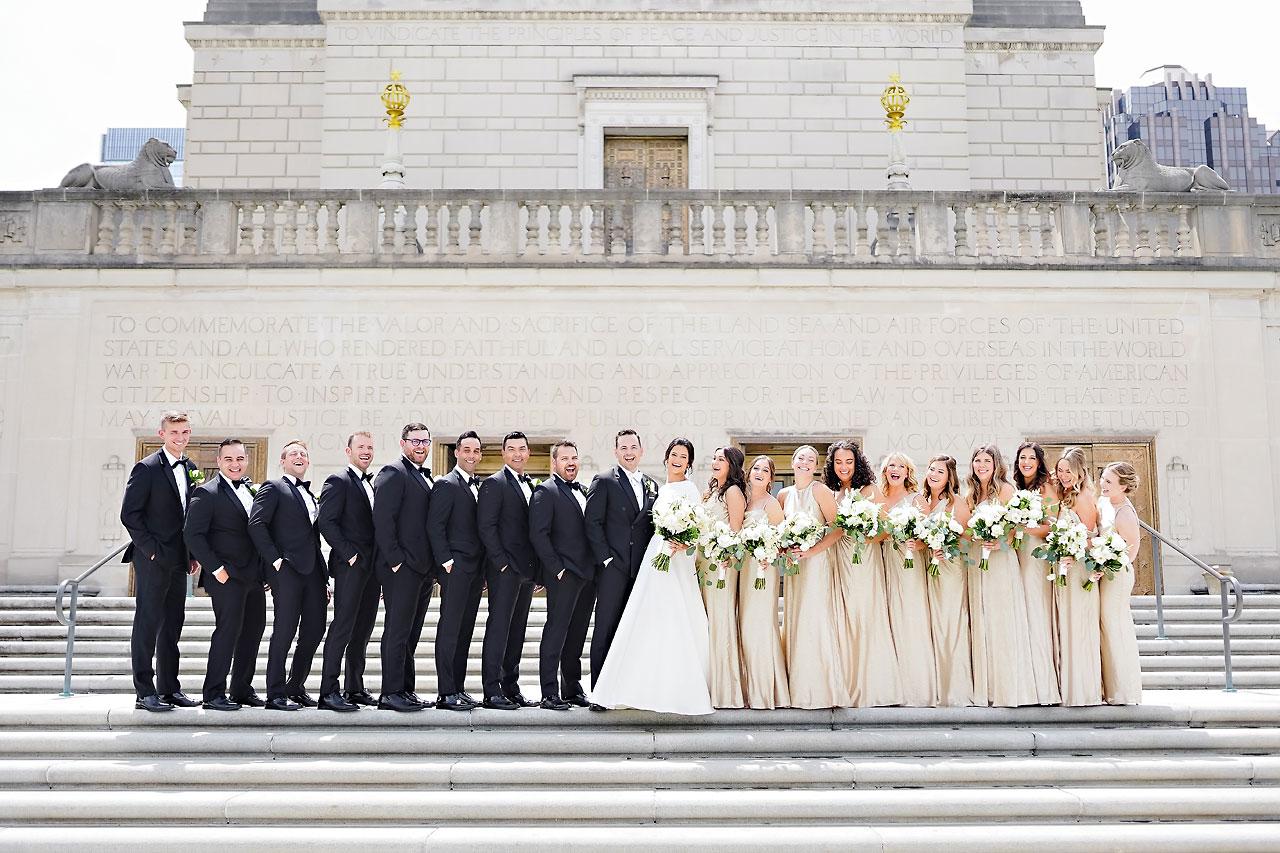 Kaitlin Collin Scottish Rite Indianapolis Wedding 100