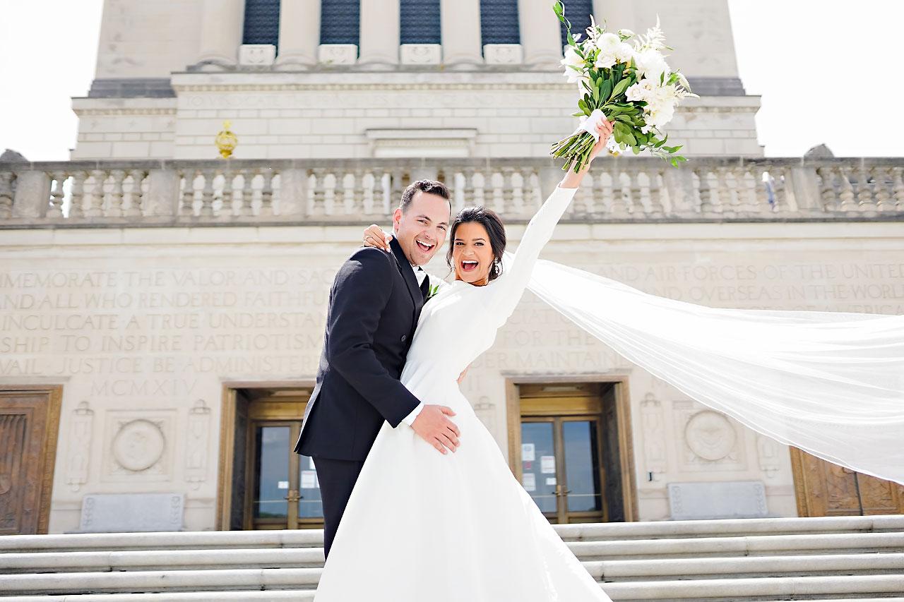 Kaitlin Collin Scottish Rite Indianapolis Wedding 102