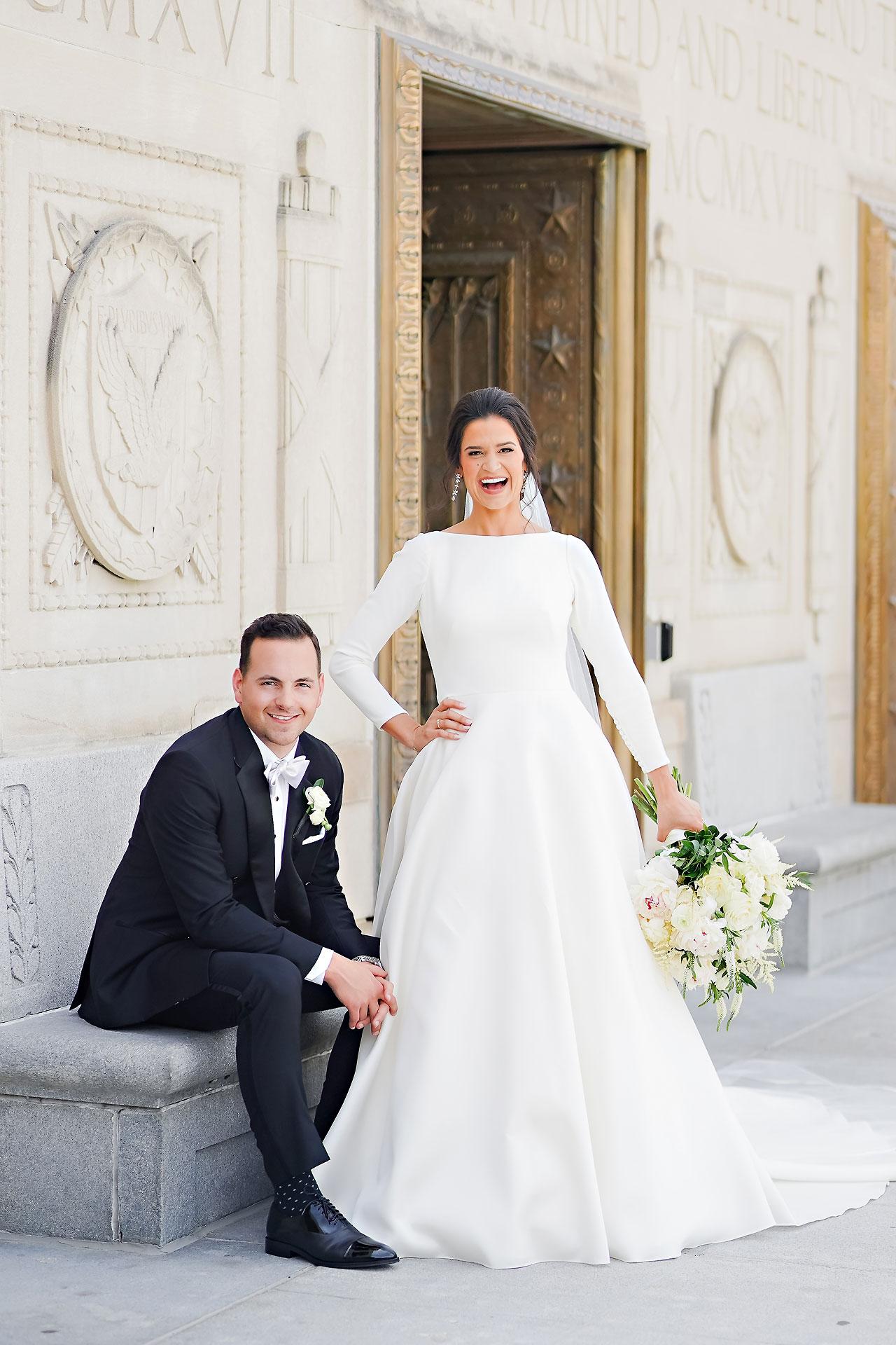 Kaitlin Collin Scottish Rite Indianapolis Wedding 104