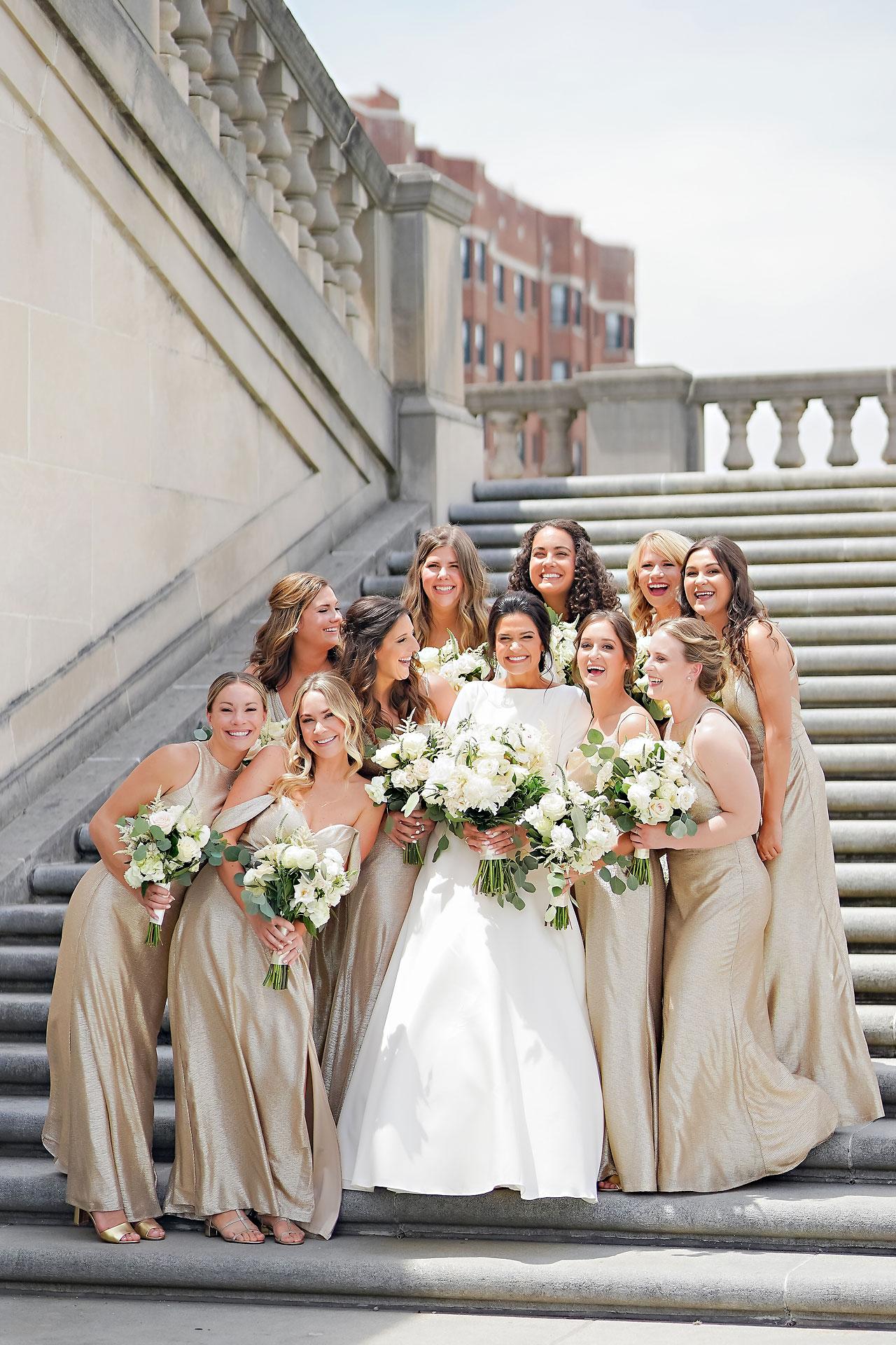 Kaitlin Collin Scottish Rite Indianapolis Wedding 106