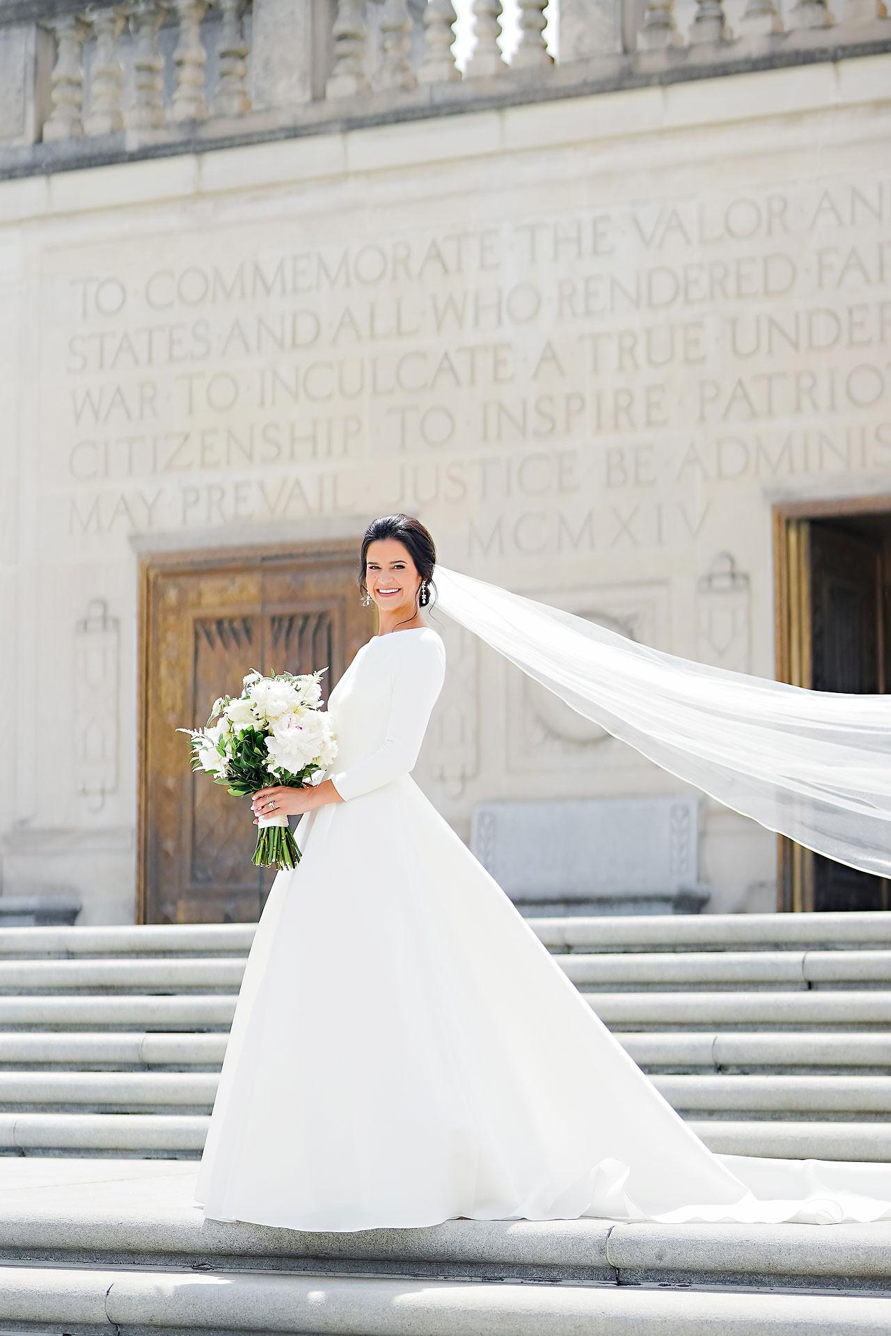 Kaitlin Collin Scottish Rite Indianapolis Wedding 109