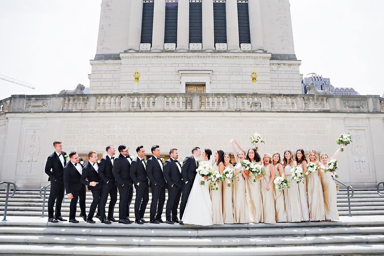 Kaitlin Collin Scottish Rite Indianapolis Wedding 112