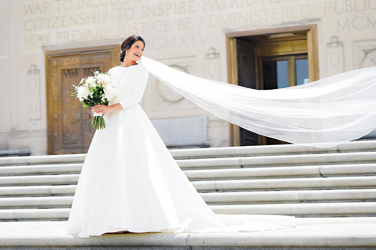 Kaitlin Collin Scottish Rite Indianapolis Wedding 114