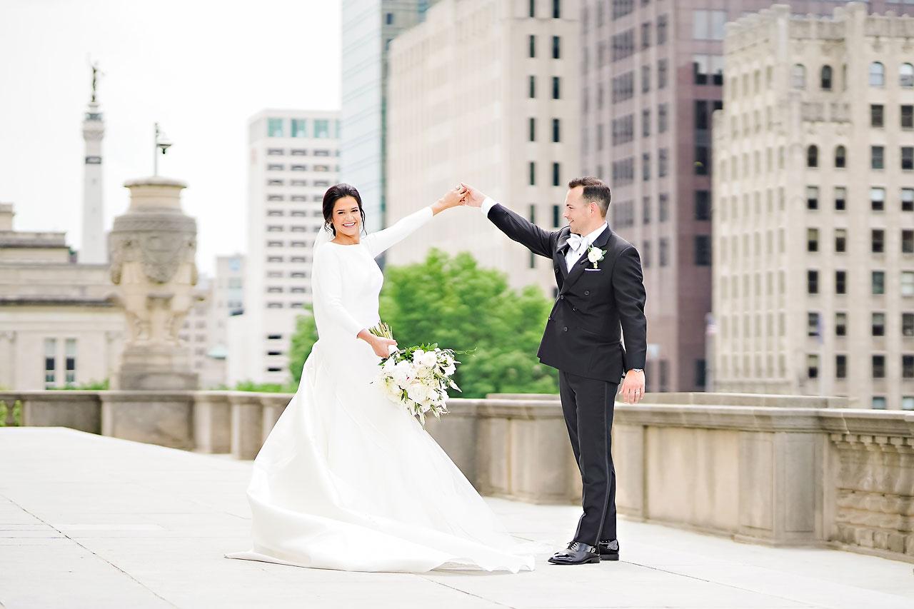 Kaitlin Collin Scottish Rite Indianapolis Wedding 116