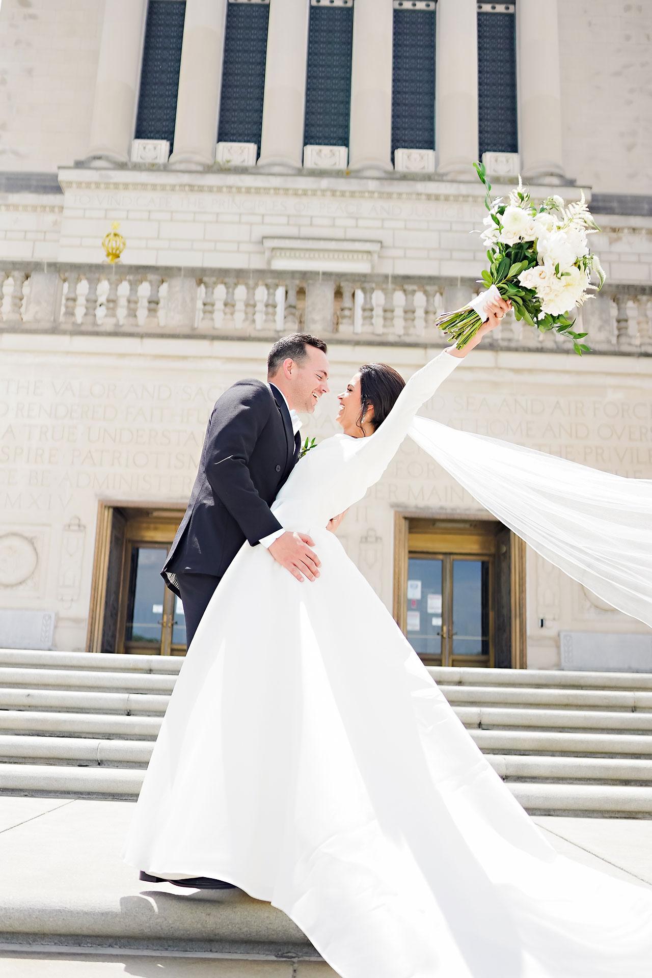Kaitlin Collin Scottish Rite Indianapolis Wedding 117