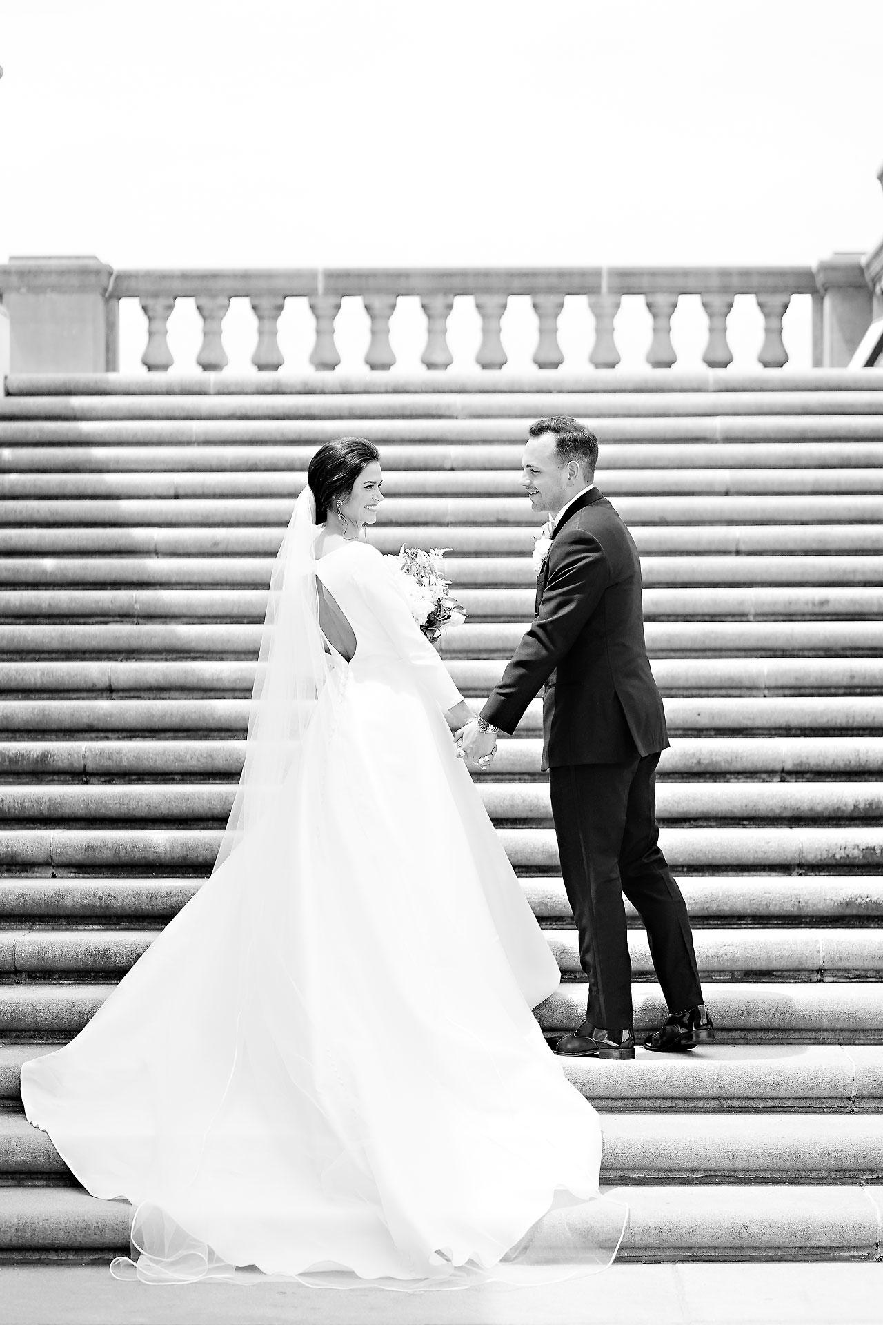 Kaitlin Collin Scottish Rite Indianapolis Wedding 119
