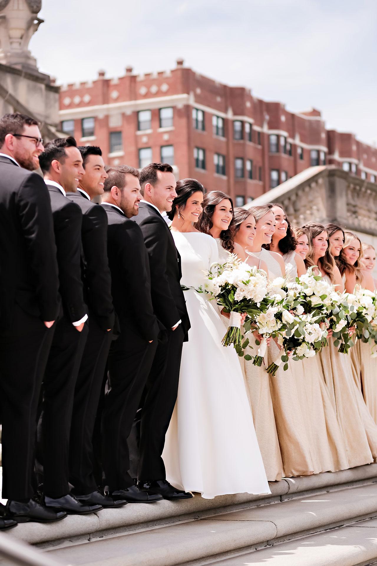 Kaitlin Collin Scottish Rite Indianapolis Wedding 121