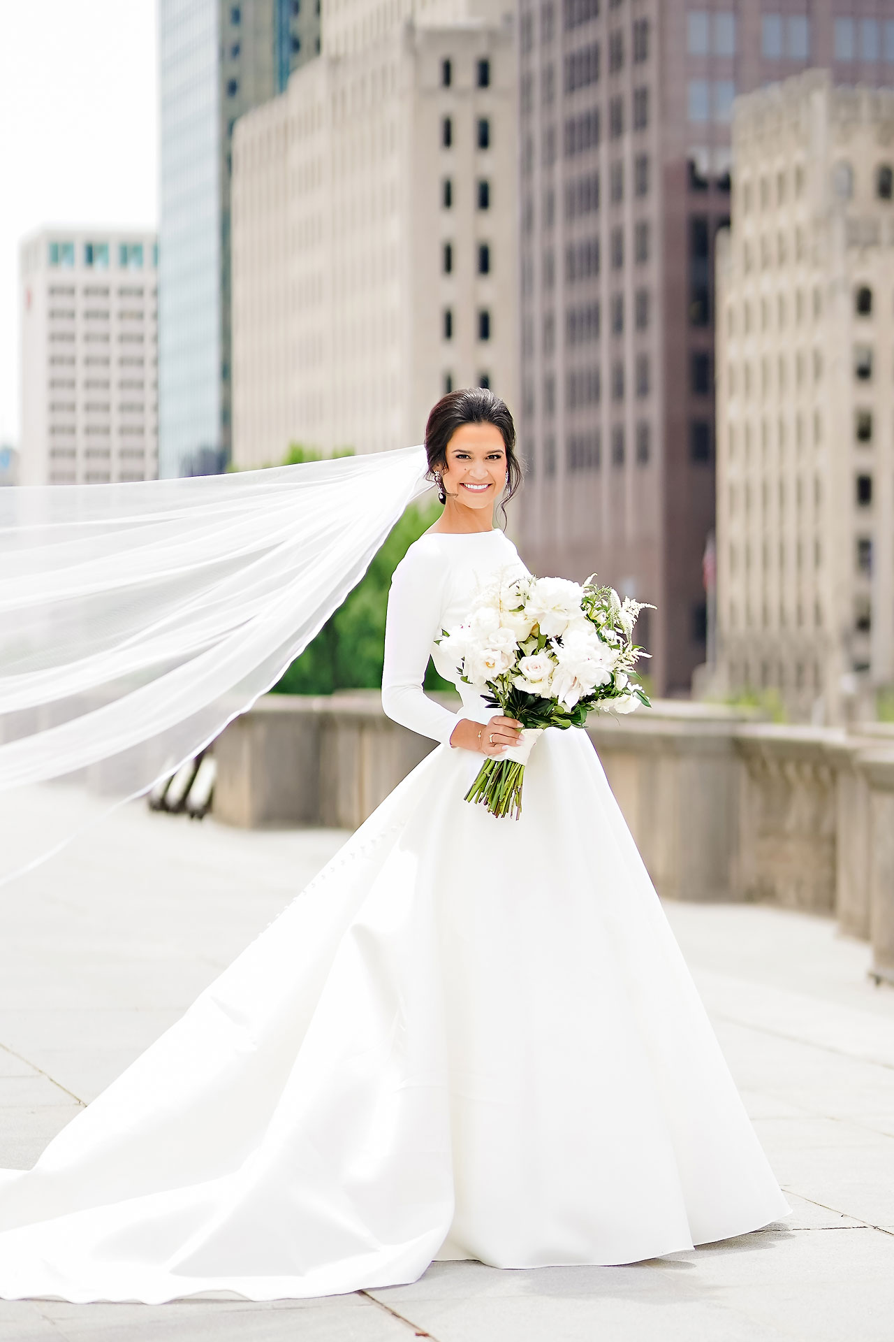 Kaitlin Collin Scottish Rite Indianapolis Wedding 122