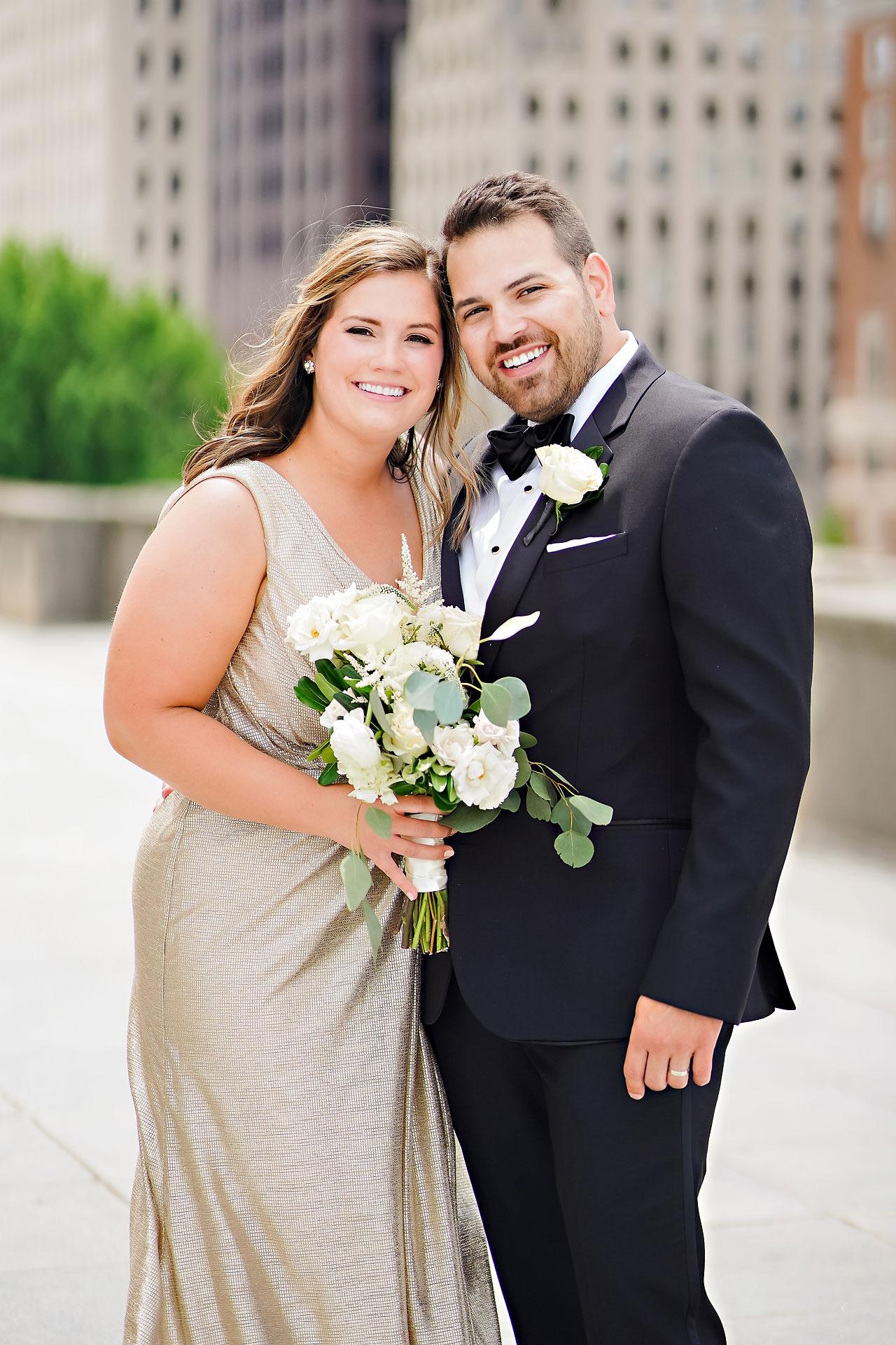 Kaitlin Collin Scottish Rite Indianapolis Wedding 124