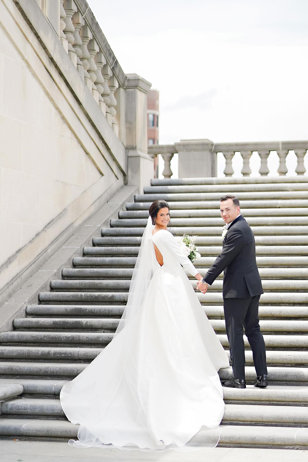 Kaitlin Collin Scottish Rite Indianapolis Wedding 126