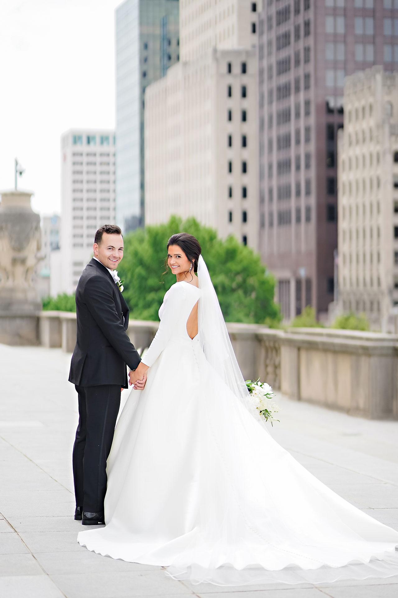 Kaitlin Collin Scottish Rite Indianapolis Wedding 129
