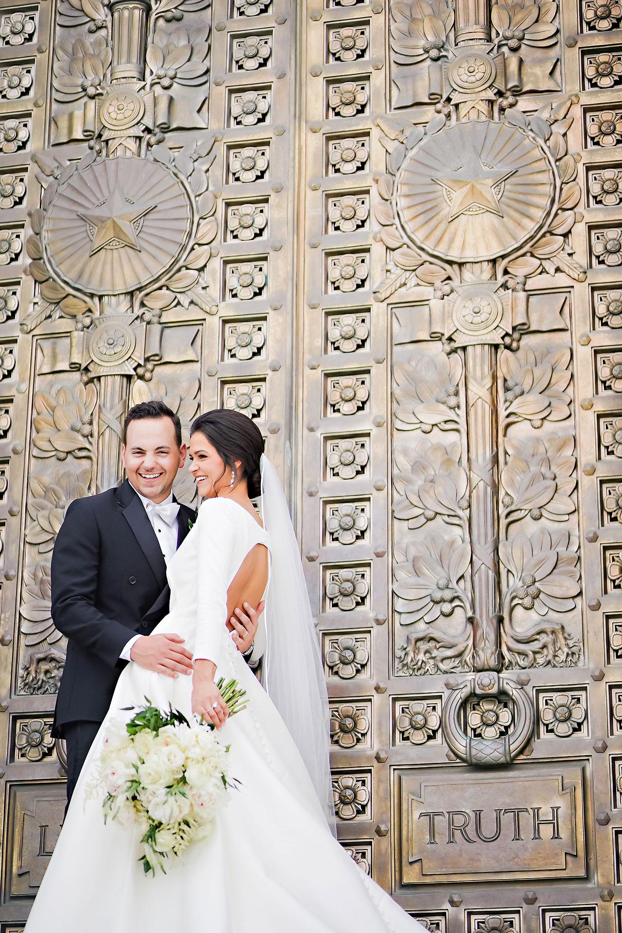 Kaitlin Collin Scottish Rite Indianapolis Wedding 131