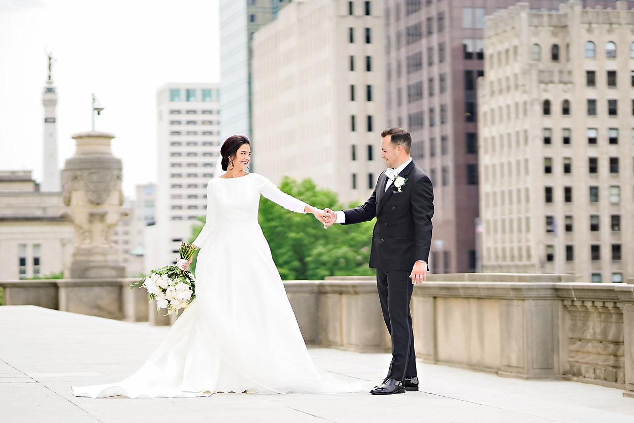 Kaitlin Collin Scottish Rite Indianapolis Wedding 132