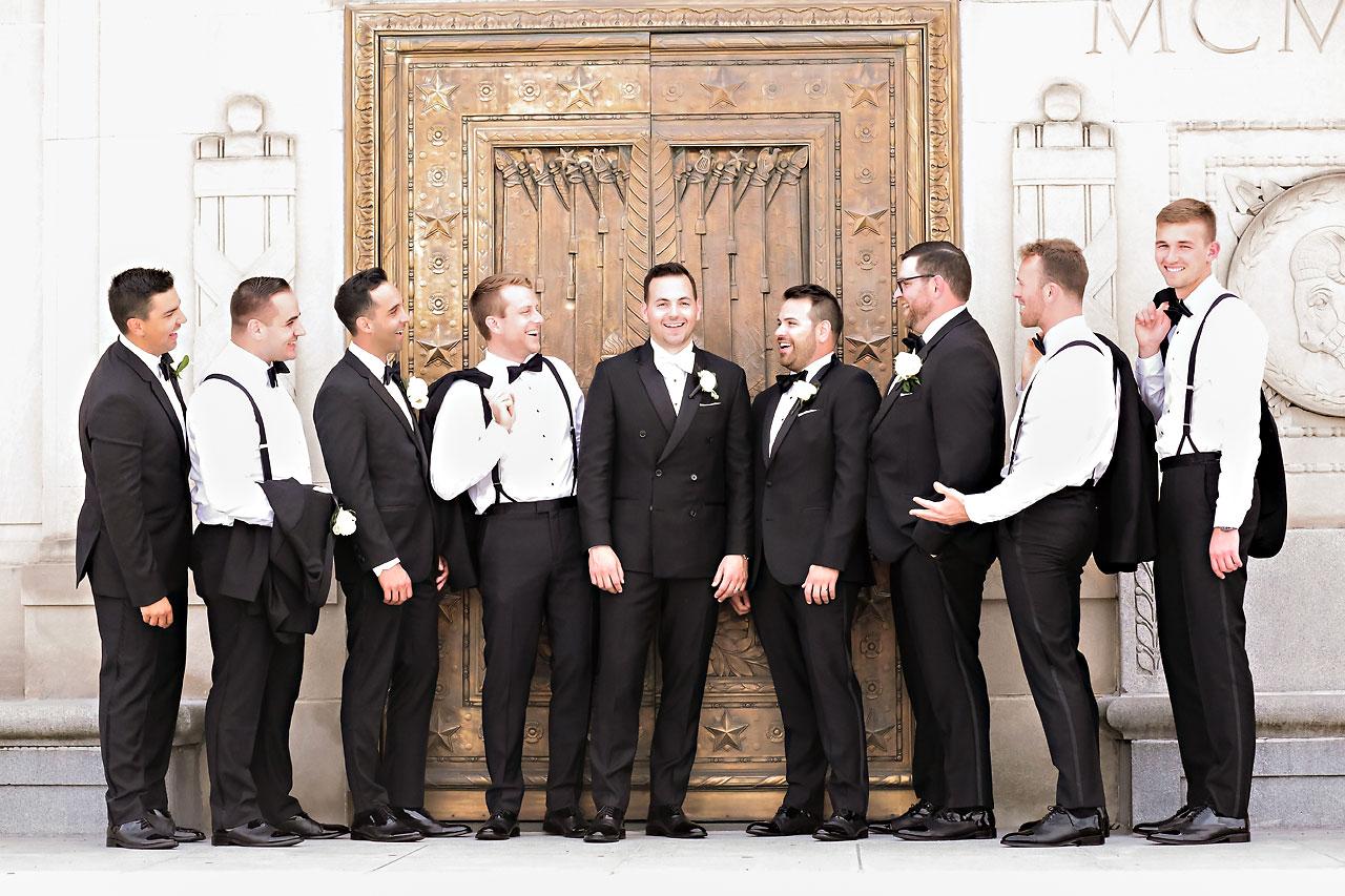 Kaitlin Collin Scottish Rite Indianapolis Wedding 133