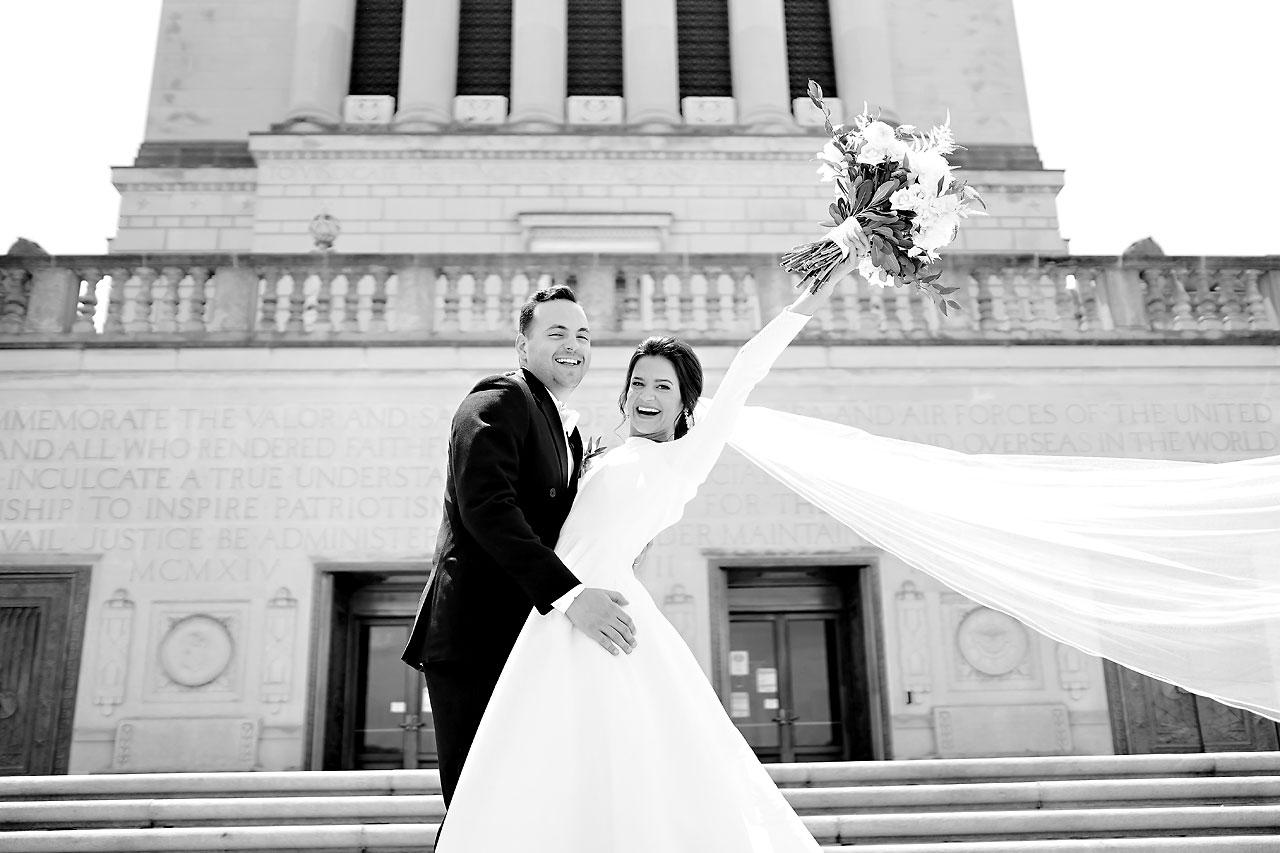Kaitlin Collin Scottish Rite Indianapolis Wedding 134