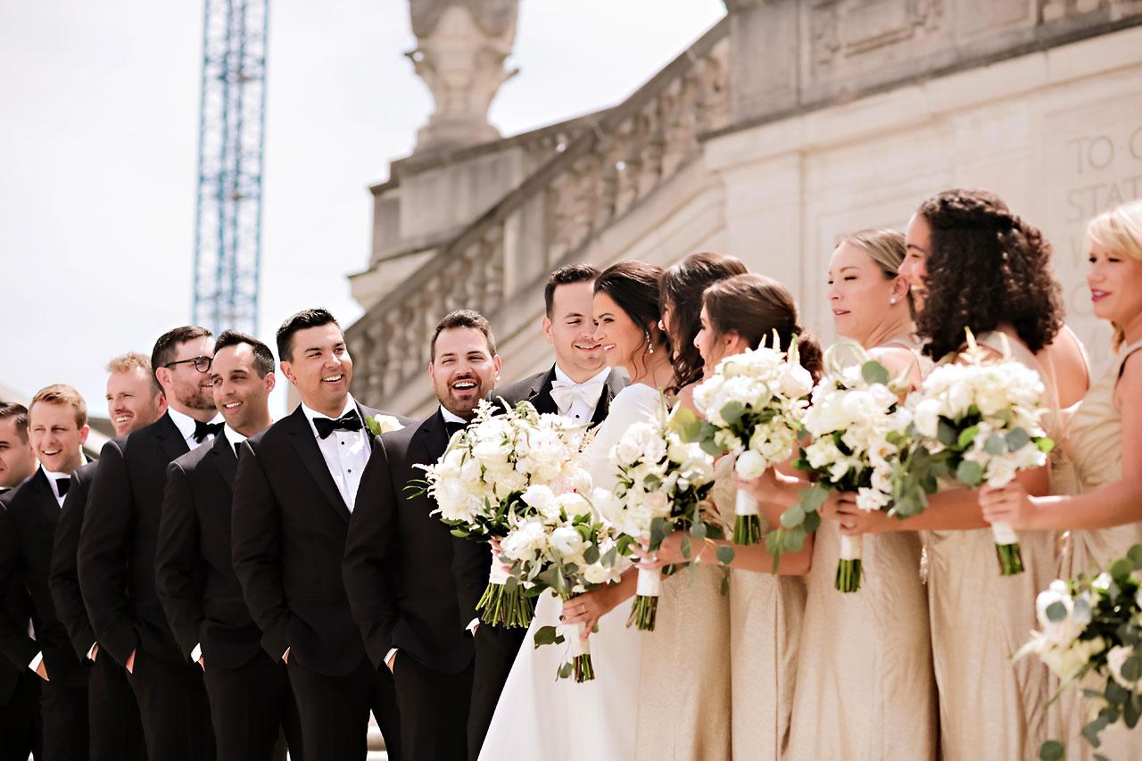 Kaitlin Collin Scottish Rite Indianapolis Wedding 136