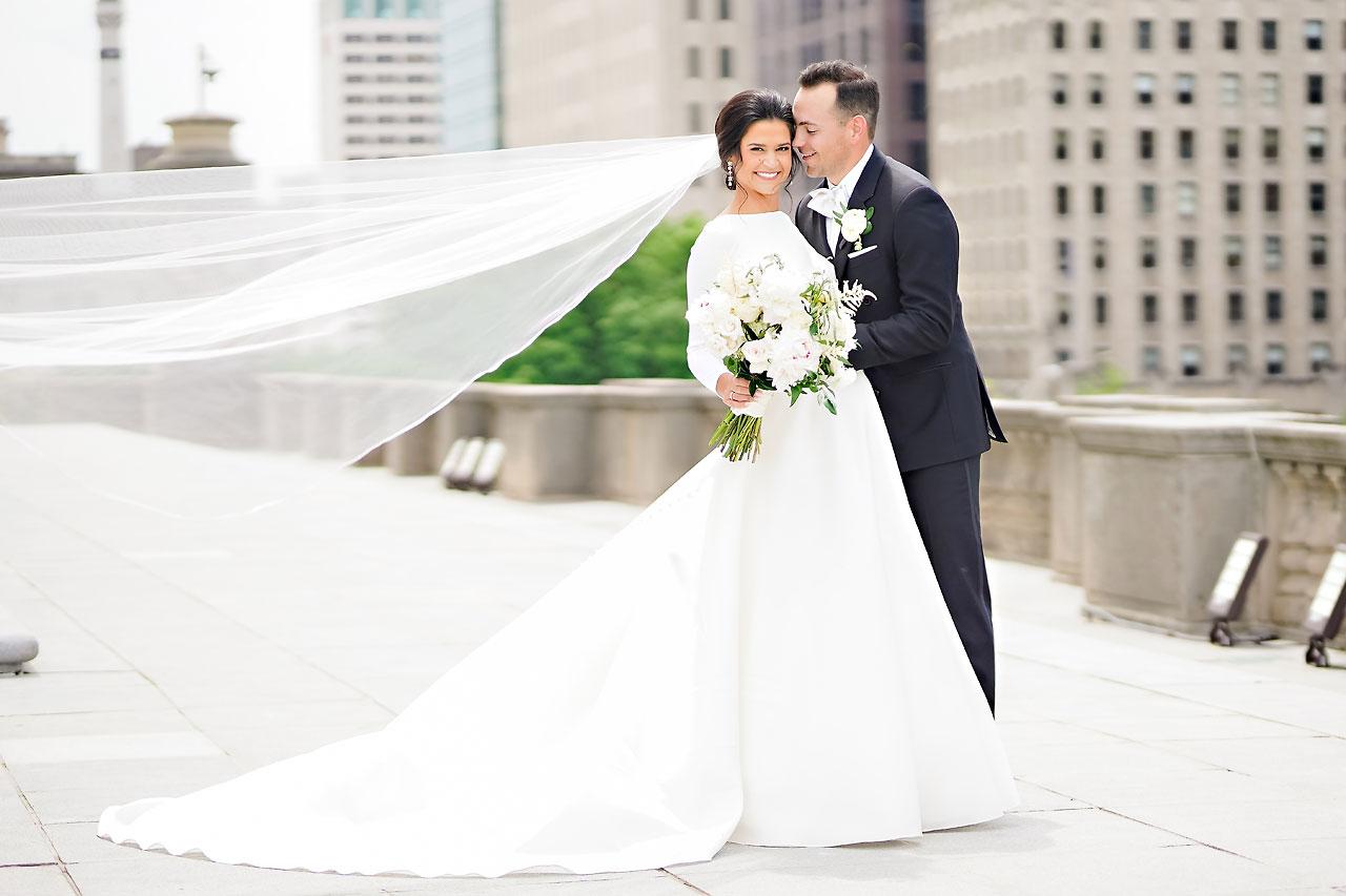 Kaitlin Collin Scottish Rite Indianapolis Wedding 137