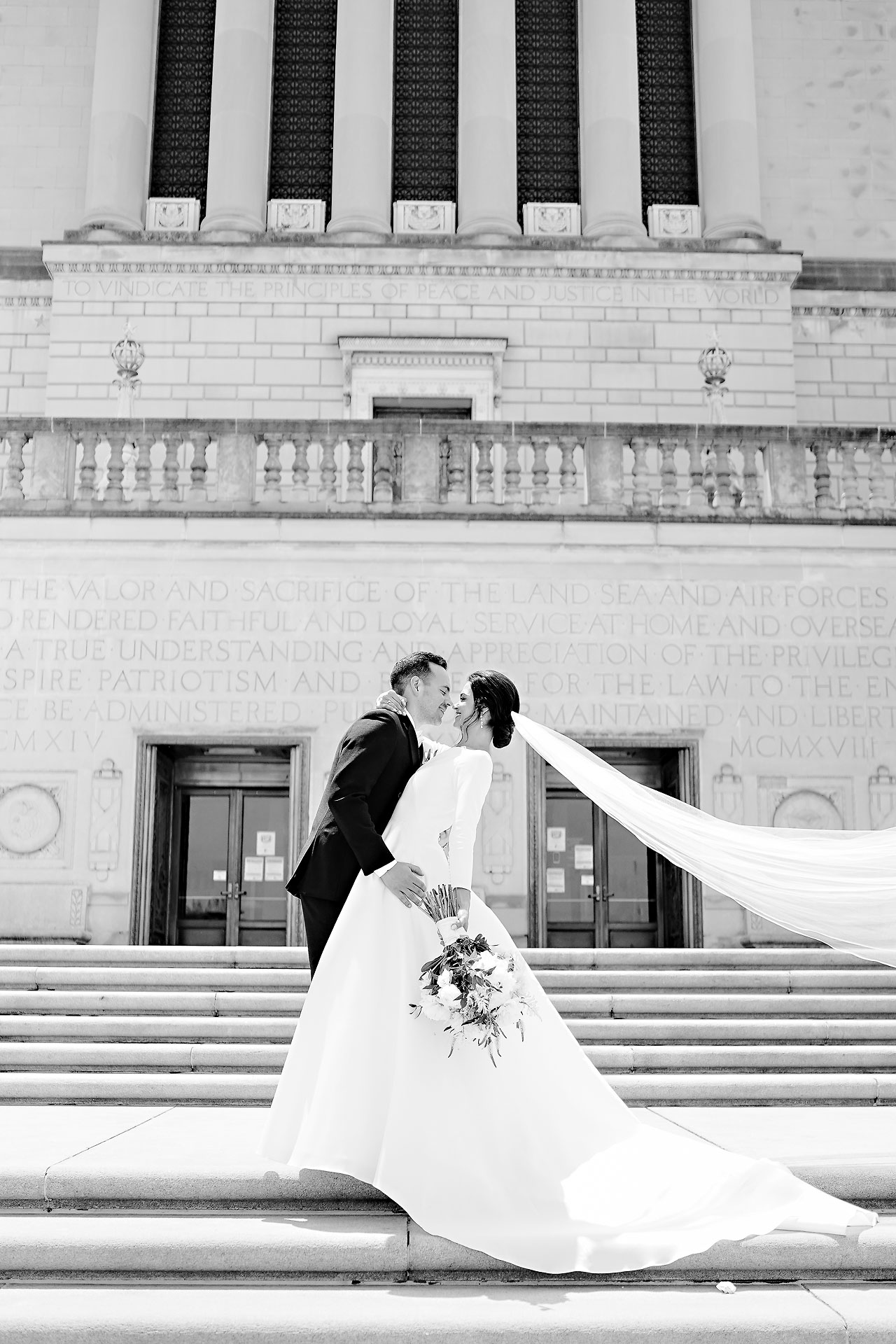 Kaitlin Collin Scottish Rite Indianapolis Wedding 138
