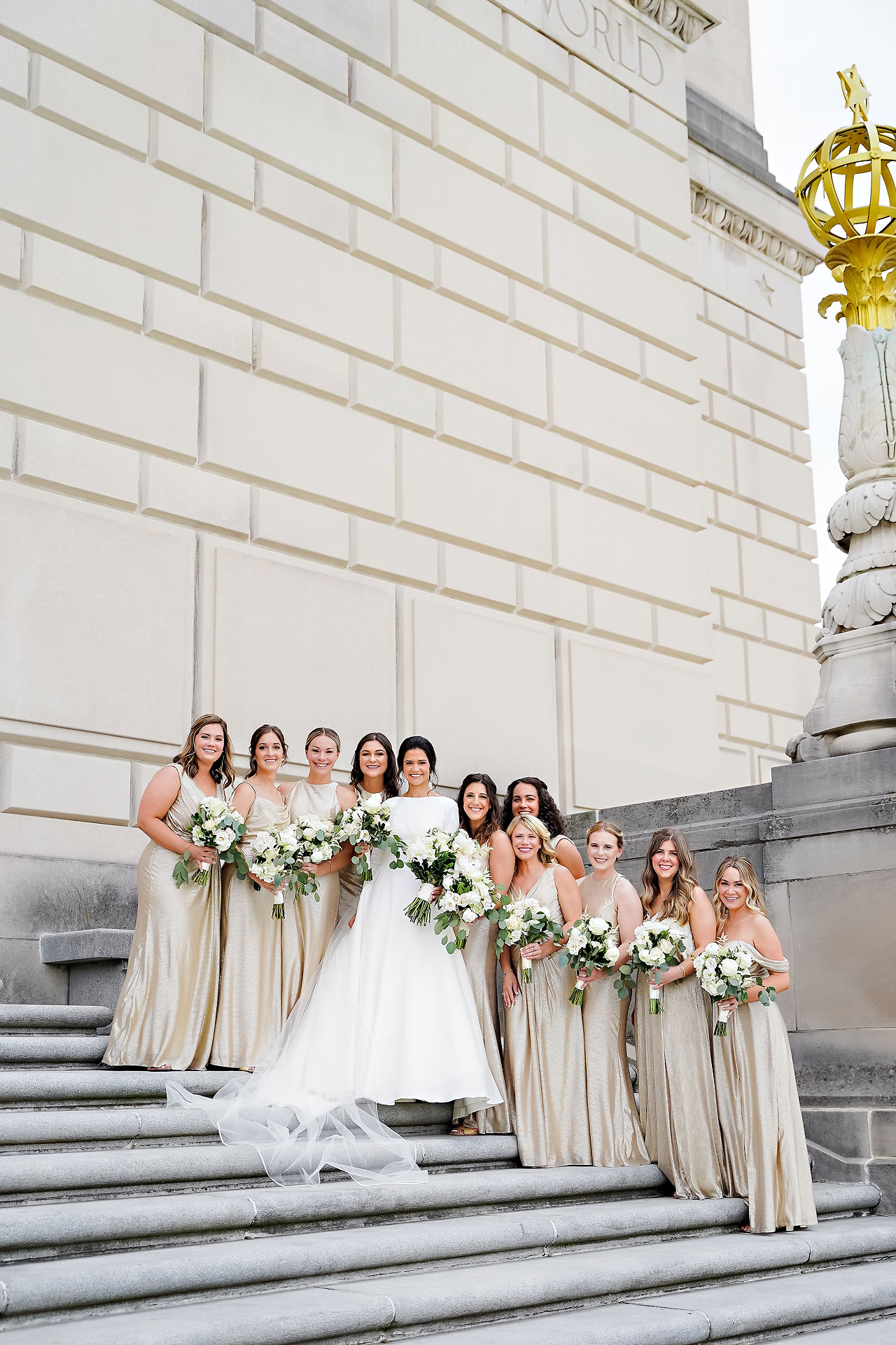 Kaitlin Collin Scottish Rite Indianapolis Wedding 141