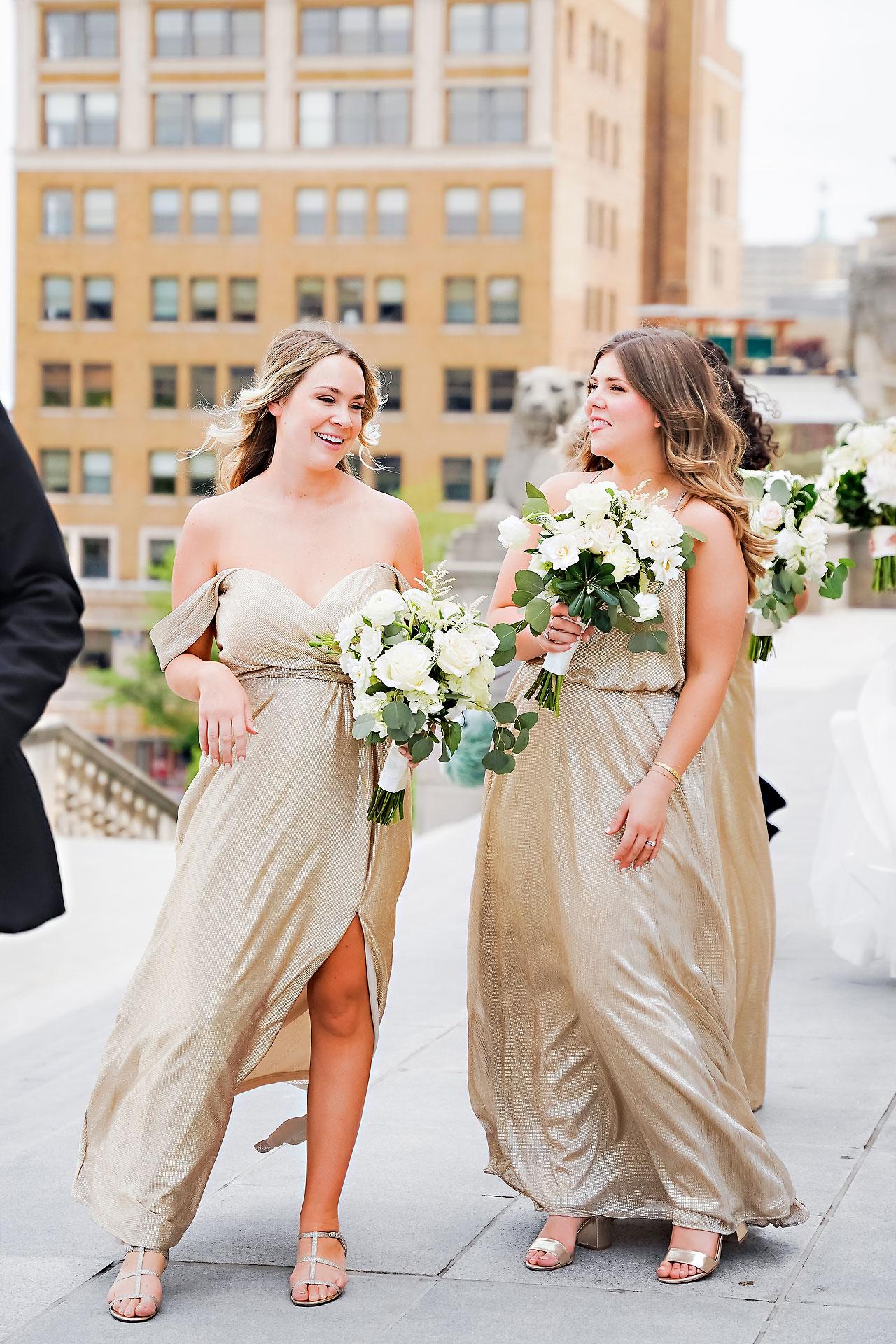 Kaitlin Collin Scottish Rite Indianapolis Wedding 143