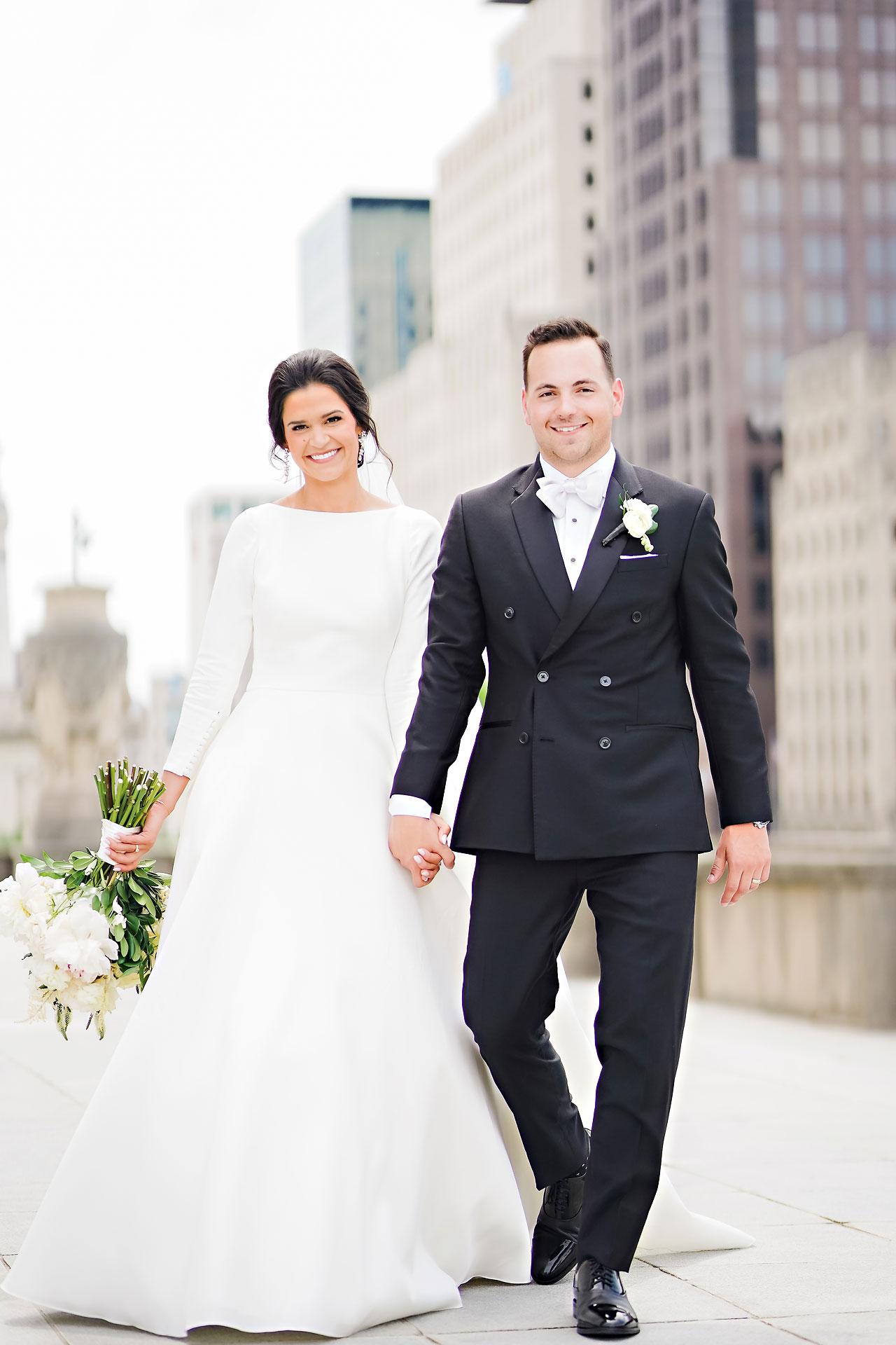 Kaitlin Collin Scottish Rite Indianapolis Wedding 145