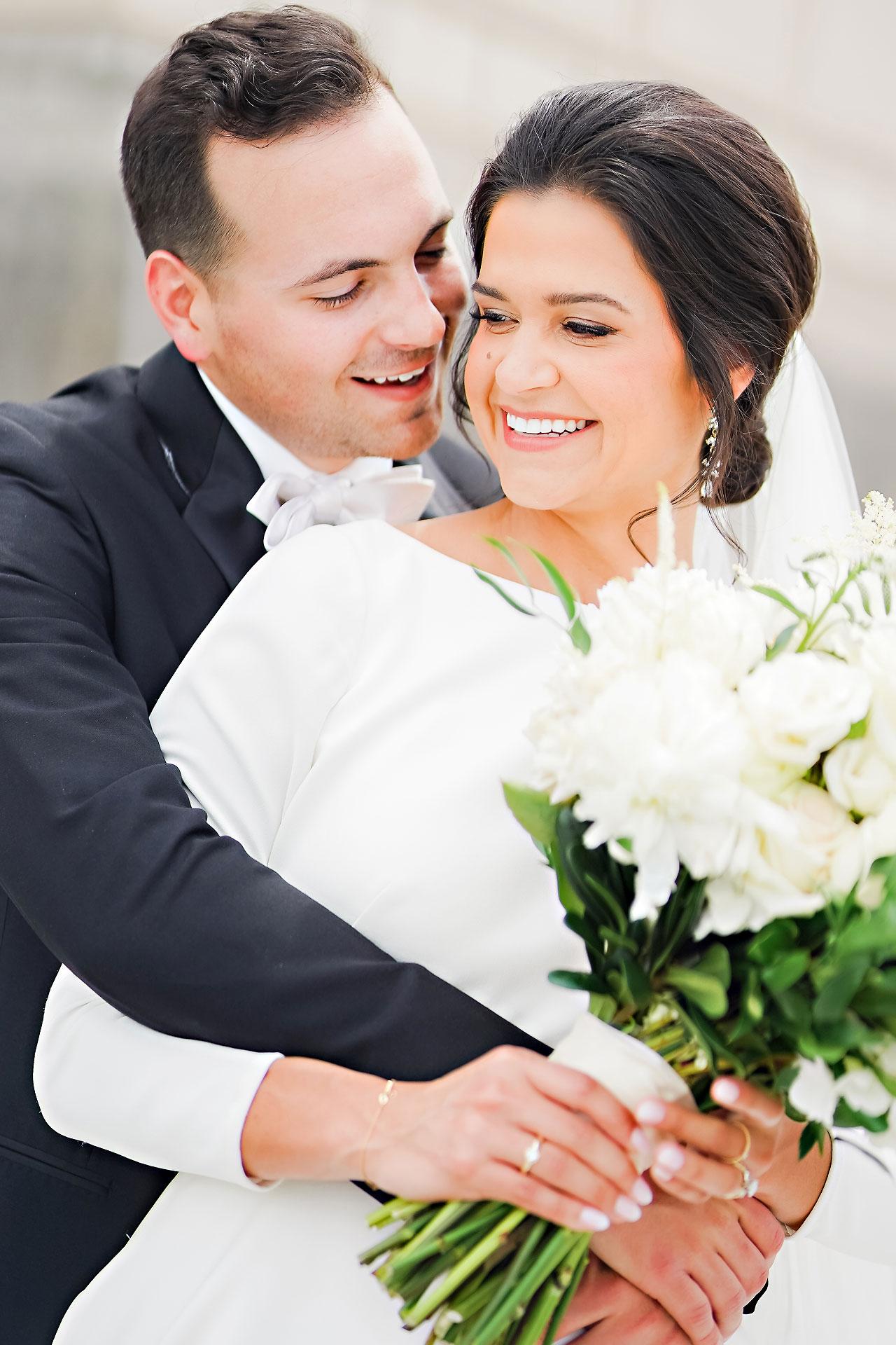 Kaitlin Collin Scottish Rite Indianapolis Wedding 148