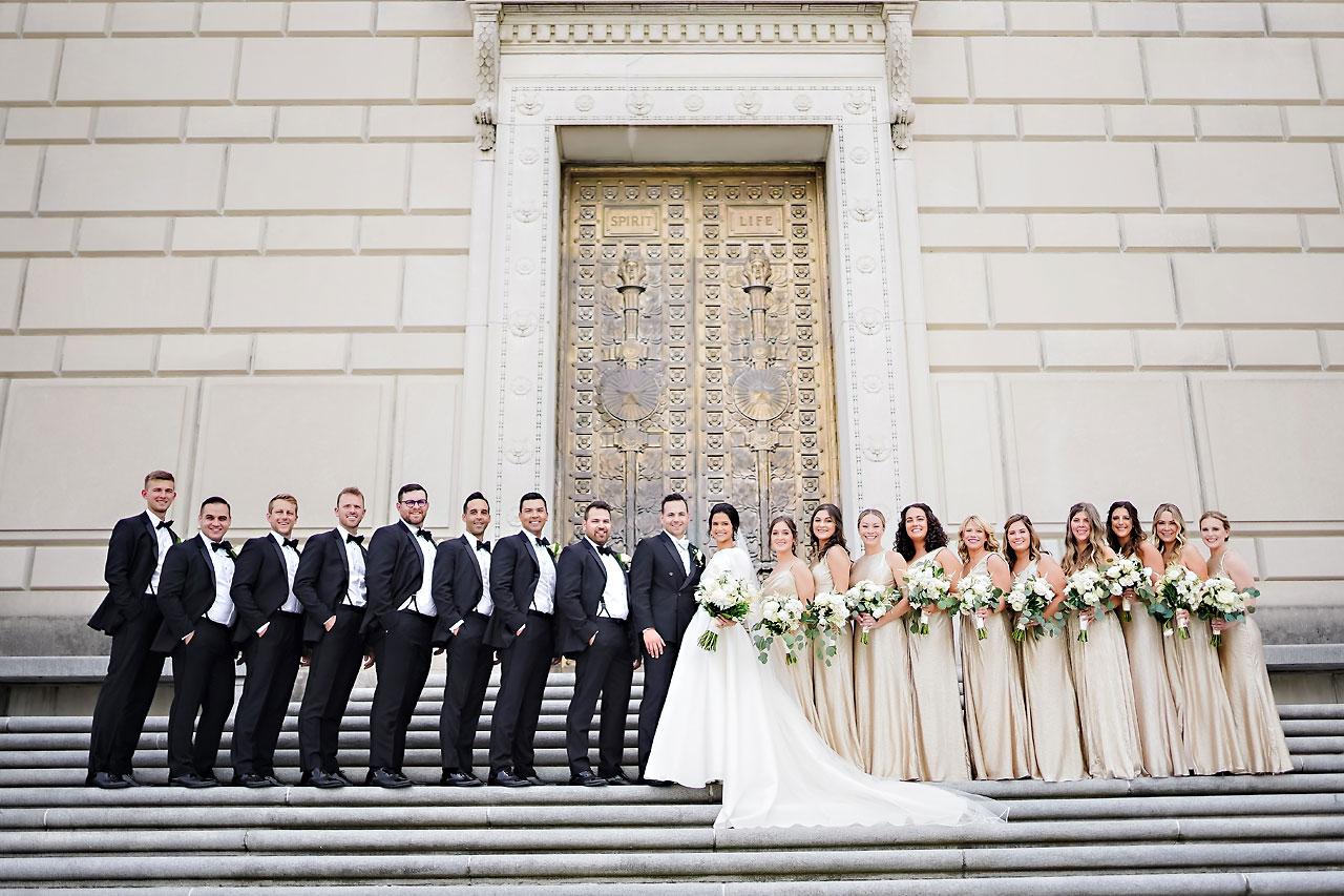 Kaitlin Collin Scottish Rite Indianapolis Wedding 150