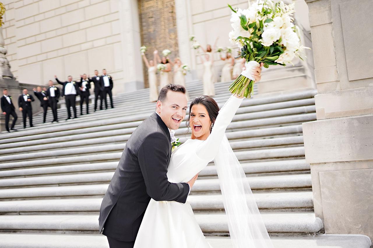 Kaitlin Collin Scottish Rite Indianapolis Wedding 153