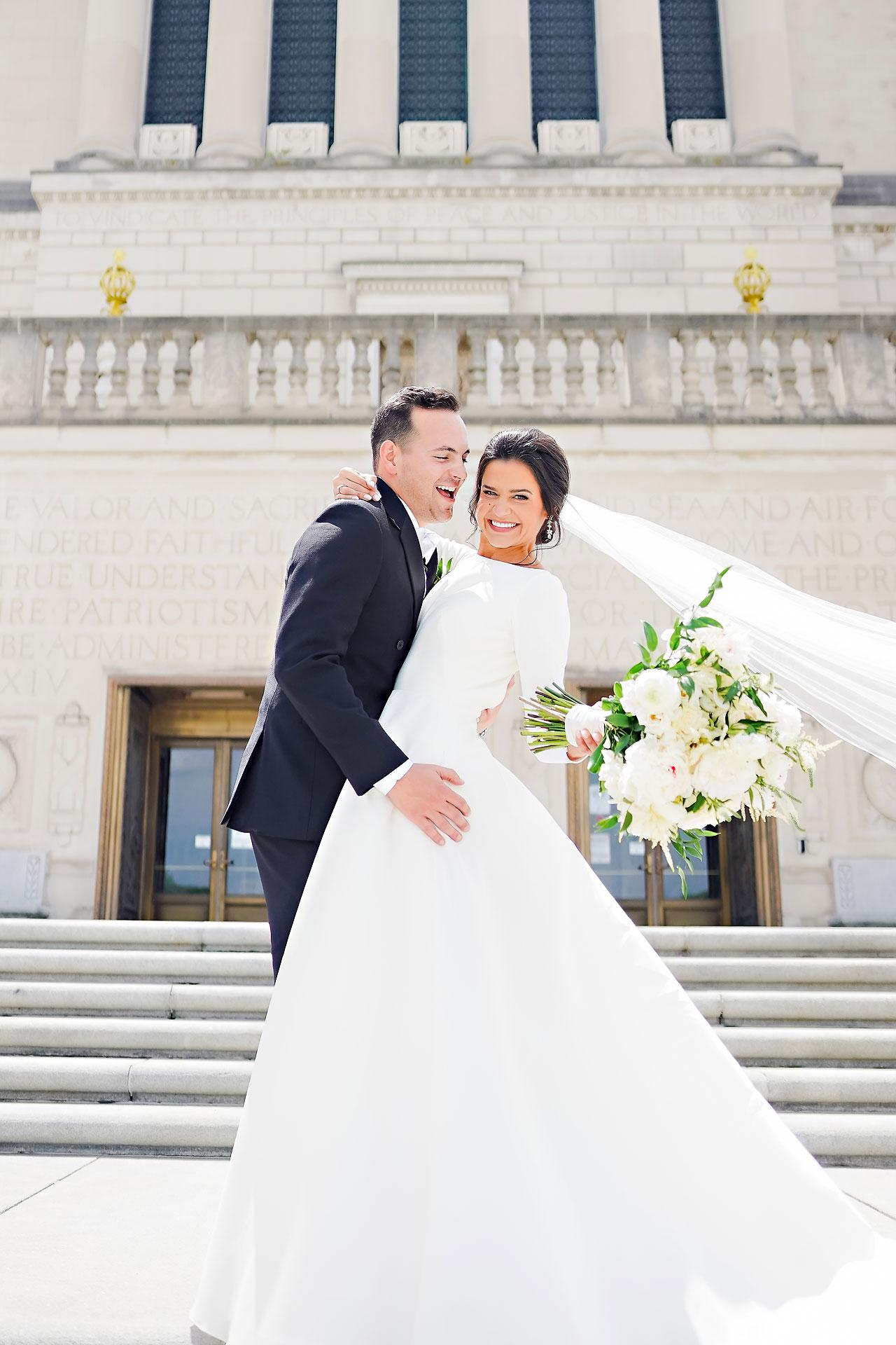 Kaitlin Collin Scottish Rite Indianapolis Wedding 154