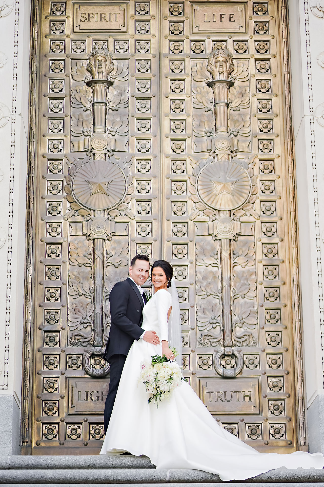 Kaitlin Collin Scottish Rite Indianapolis Wedding 156