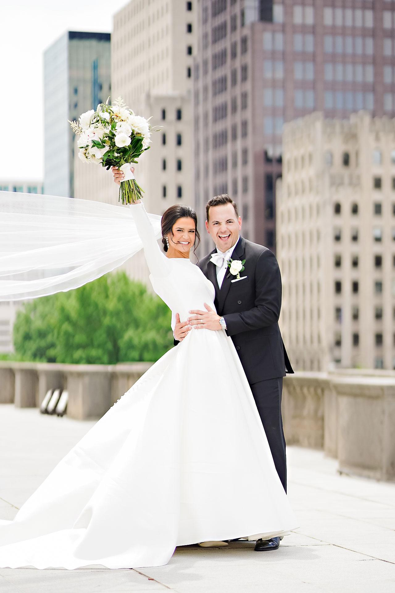 Kaitlin Collin Scottish Rite Indianapolis Wedding 158