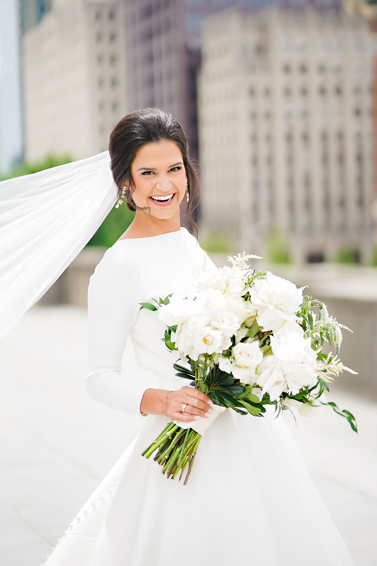 Kaitlin Collin Scottish Rite Indianapolis Wedding 164