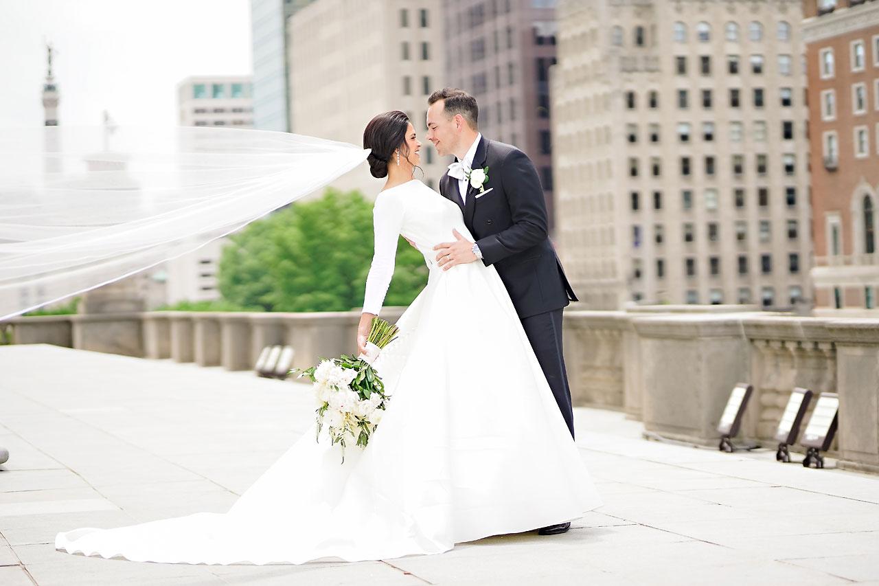 Kaitlin Collin Scottish Rite Indianapolis Wedding 165