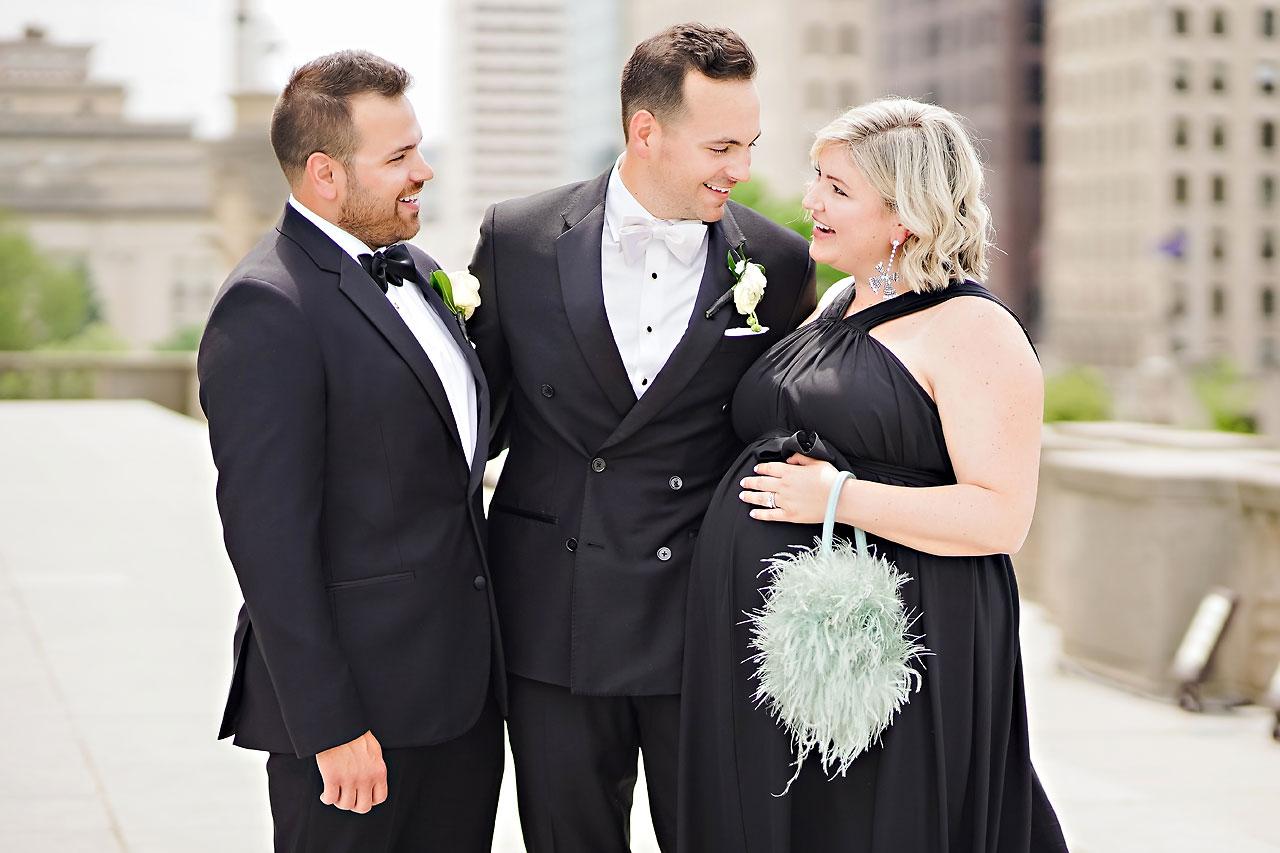 Kaitlin Collin Scottish Rite Indianapolis Wedding 168