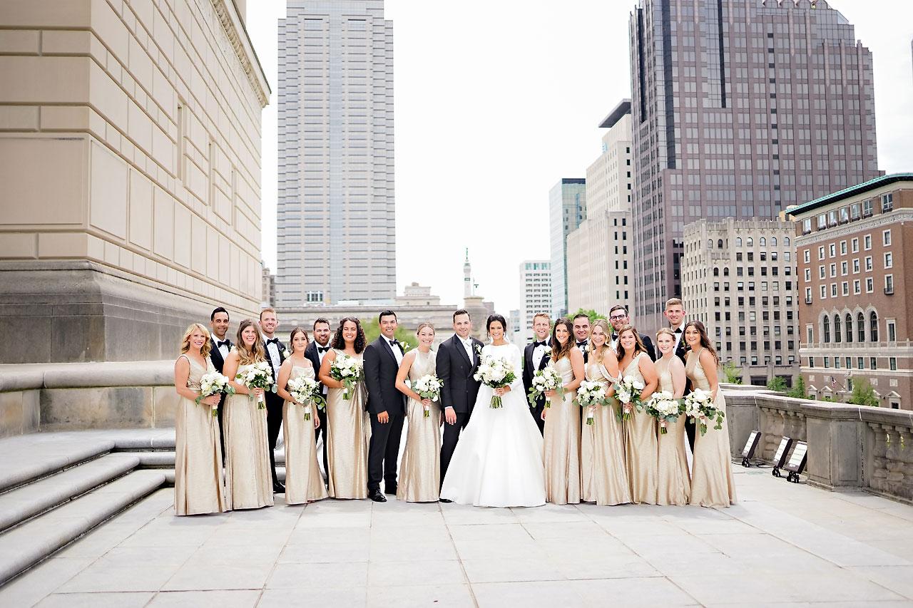 Kaitlin Collin Scottish Rite Indianapolis Wedding 169