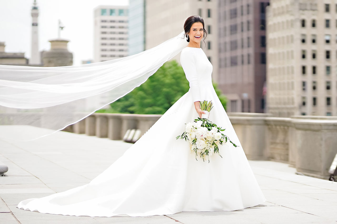 Kaitlin Collin Scottish Rite Indianapolis Wedding 170