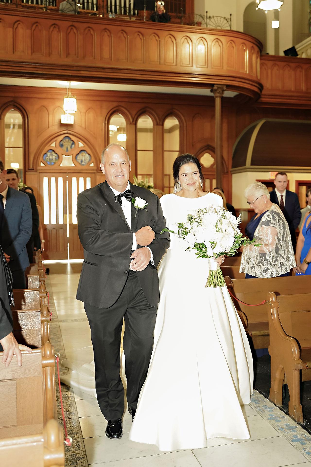 Kaitlin Collin Scottish Rite Indianapolis Wedding 180