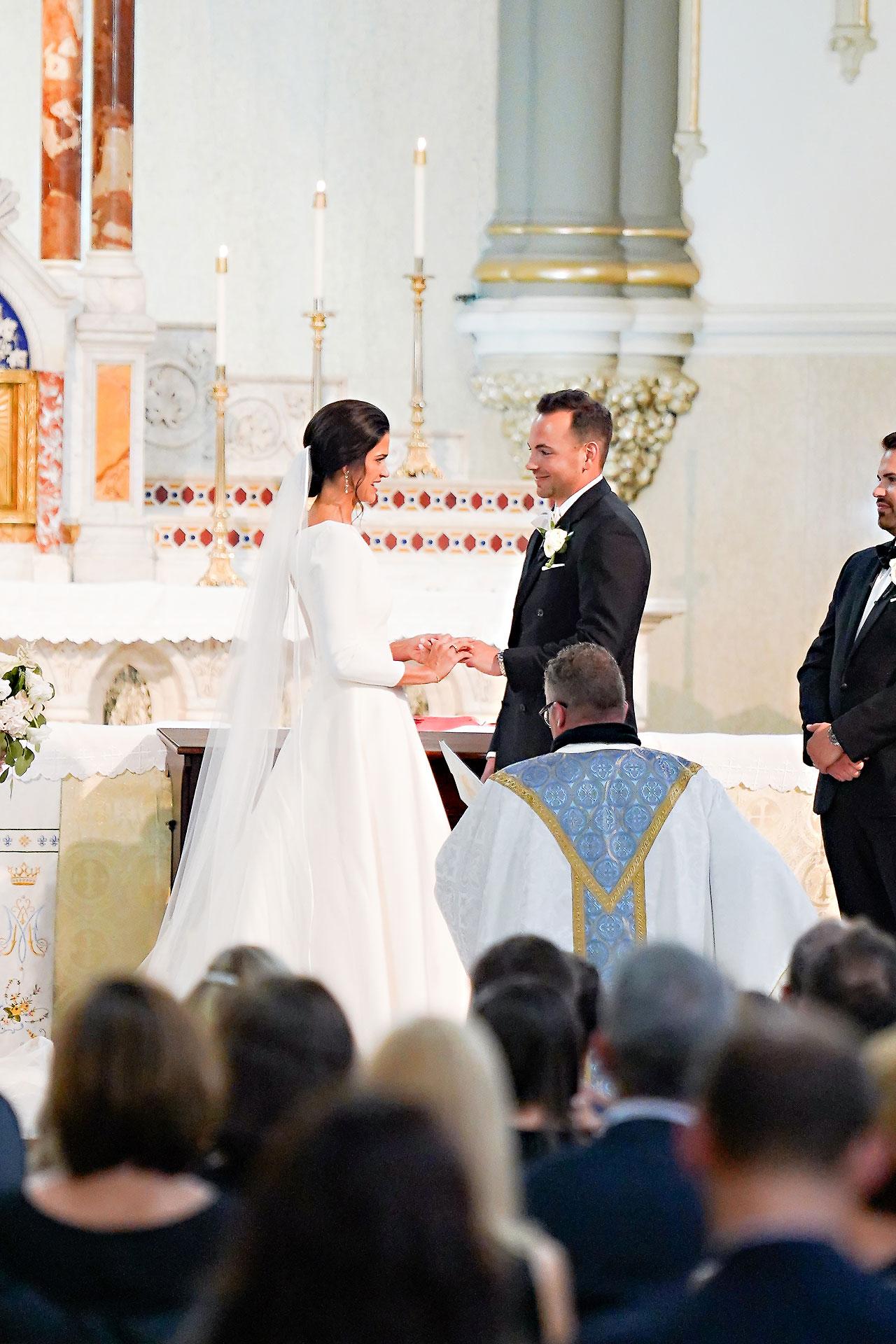 Kaitlin Collin Scottish Rite Indianapolis Wedding 187