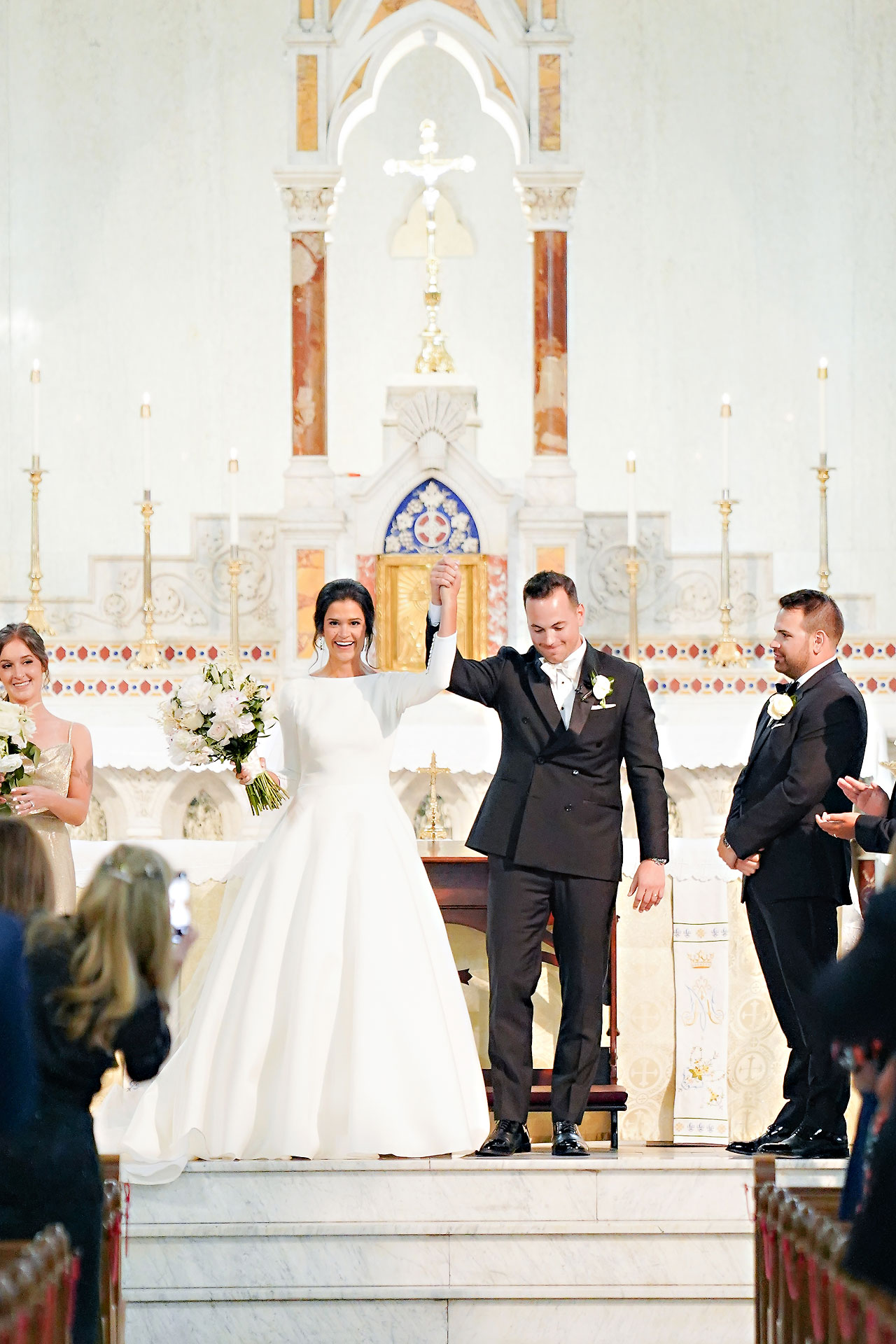 Kaitlin Collin Scottish Rite Indianapolis Wedding 190