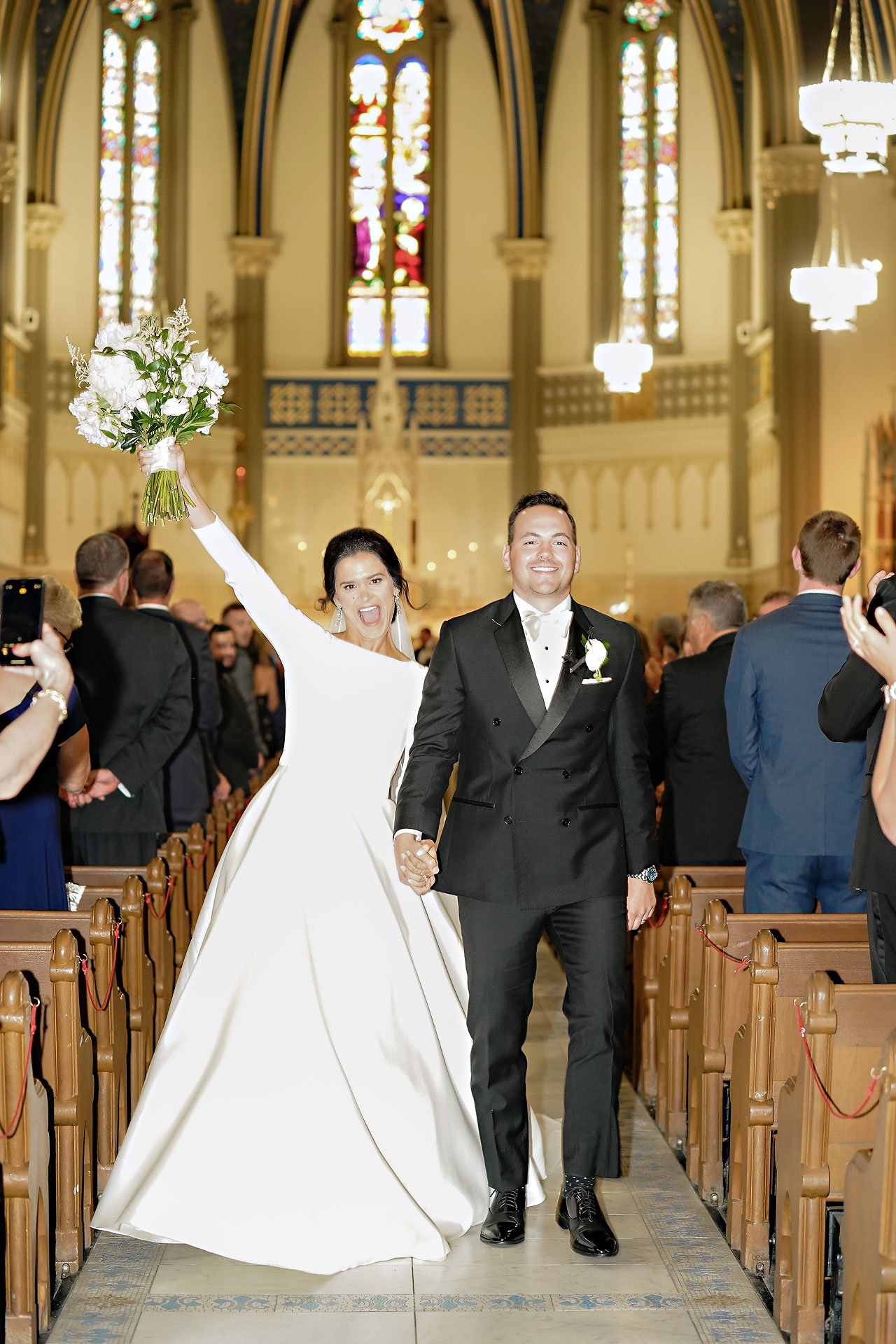 Kaitlin Collin Scottish Rite Indianapolis Wedding 193