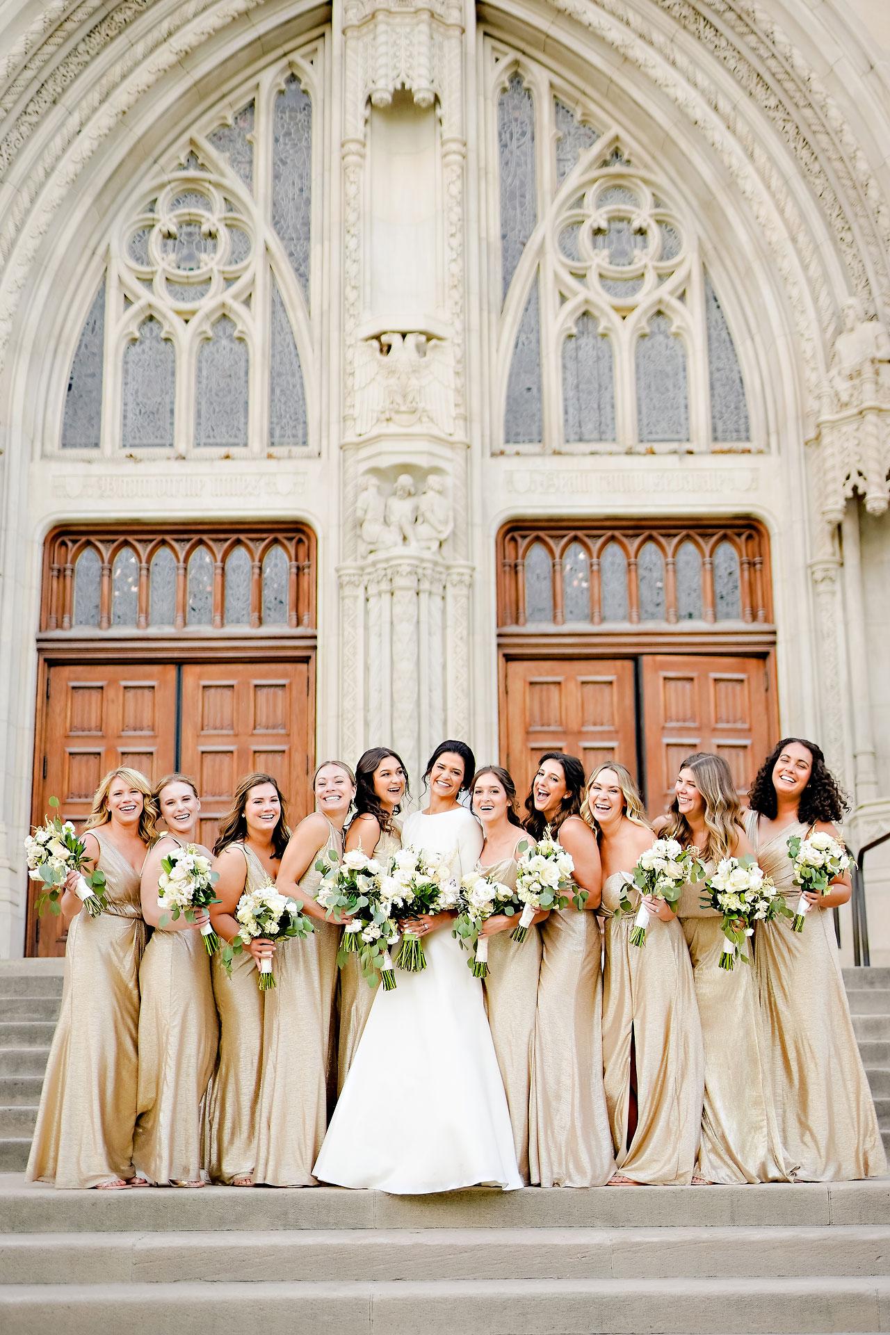 Kaitlin Collin Scottish Rite Indianapolis Wedding 209