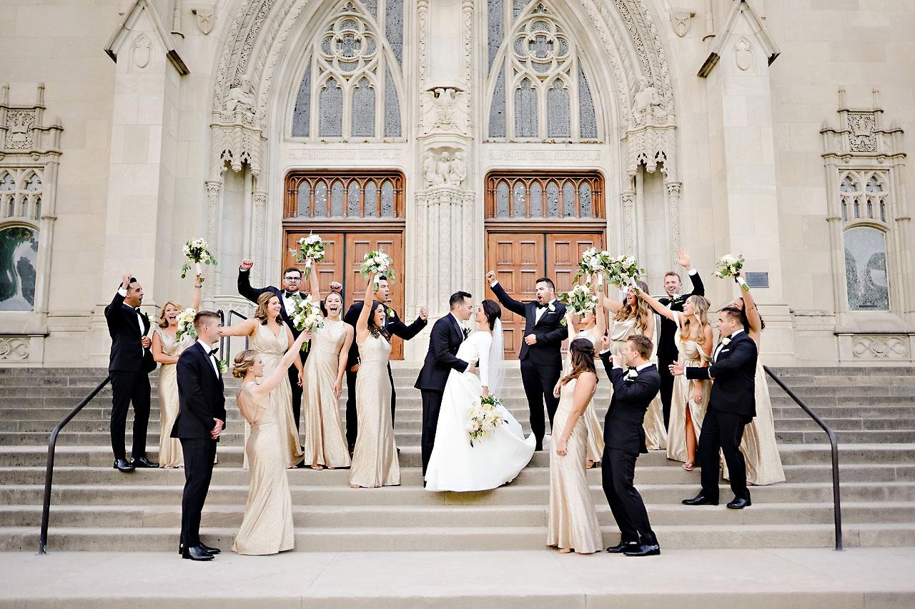 Kaitlin Collin Scottish Rite Indianapolis Wedding 215
