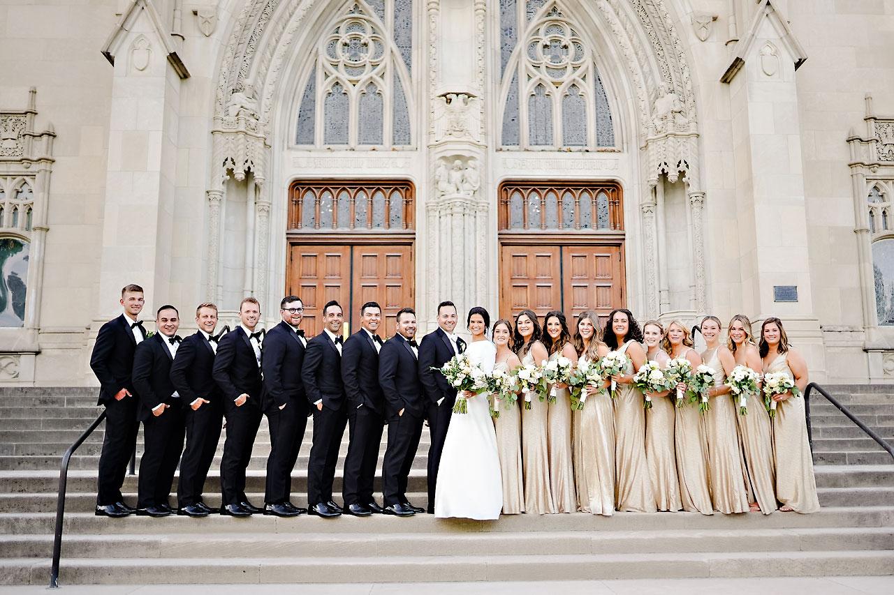 Kaitlin Collin Scottish Rite Indianapolis Wedding 217