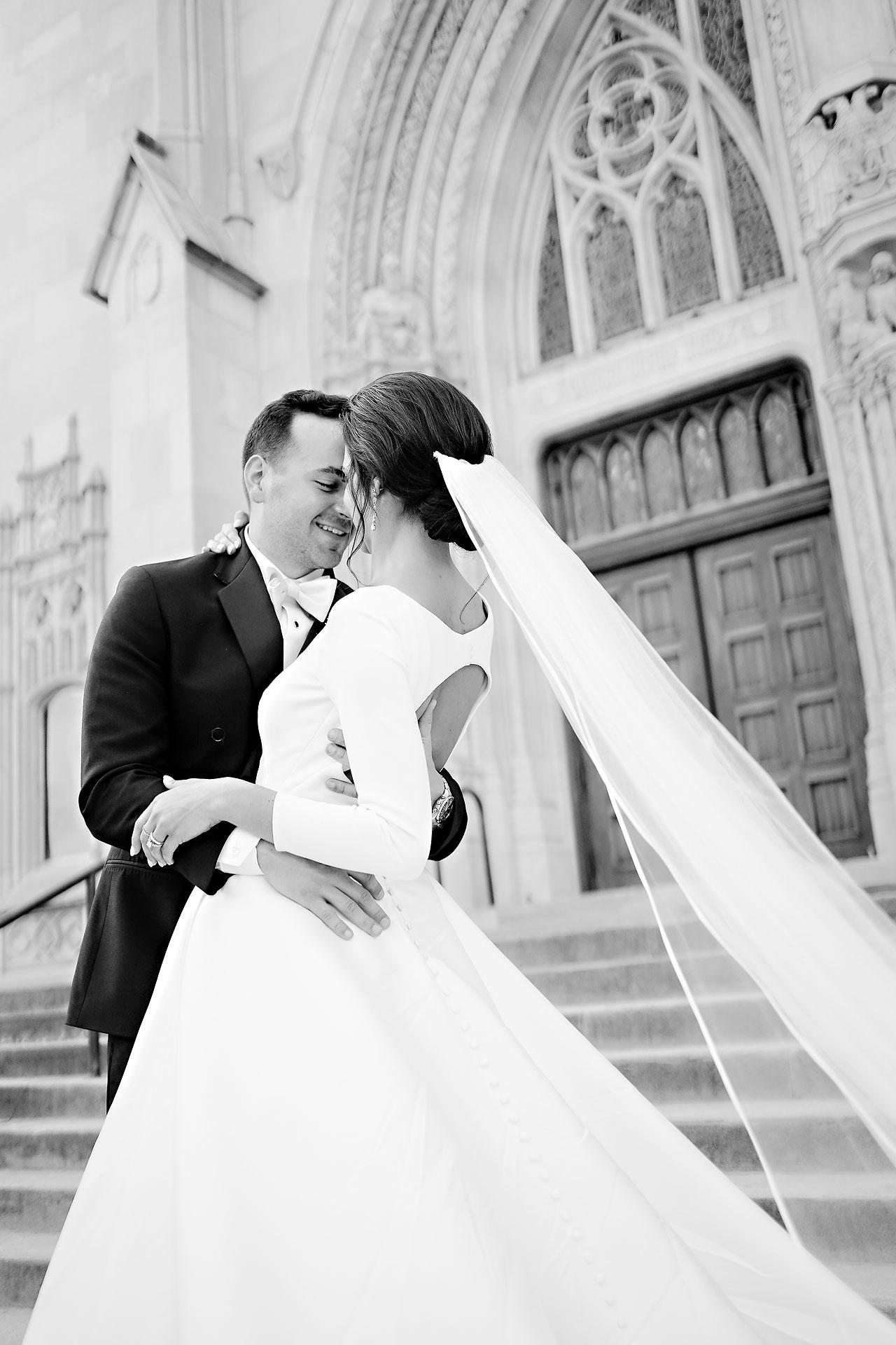 Kaitlin Collin Scottish Rite Indianapolis Wedding 219