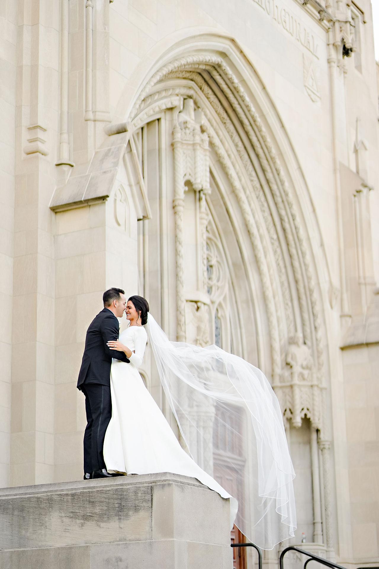 Kaitlin Collin Scottish Rite Indianapolis Wedding 221