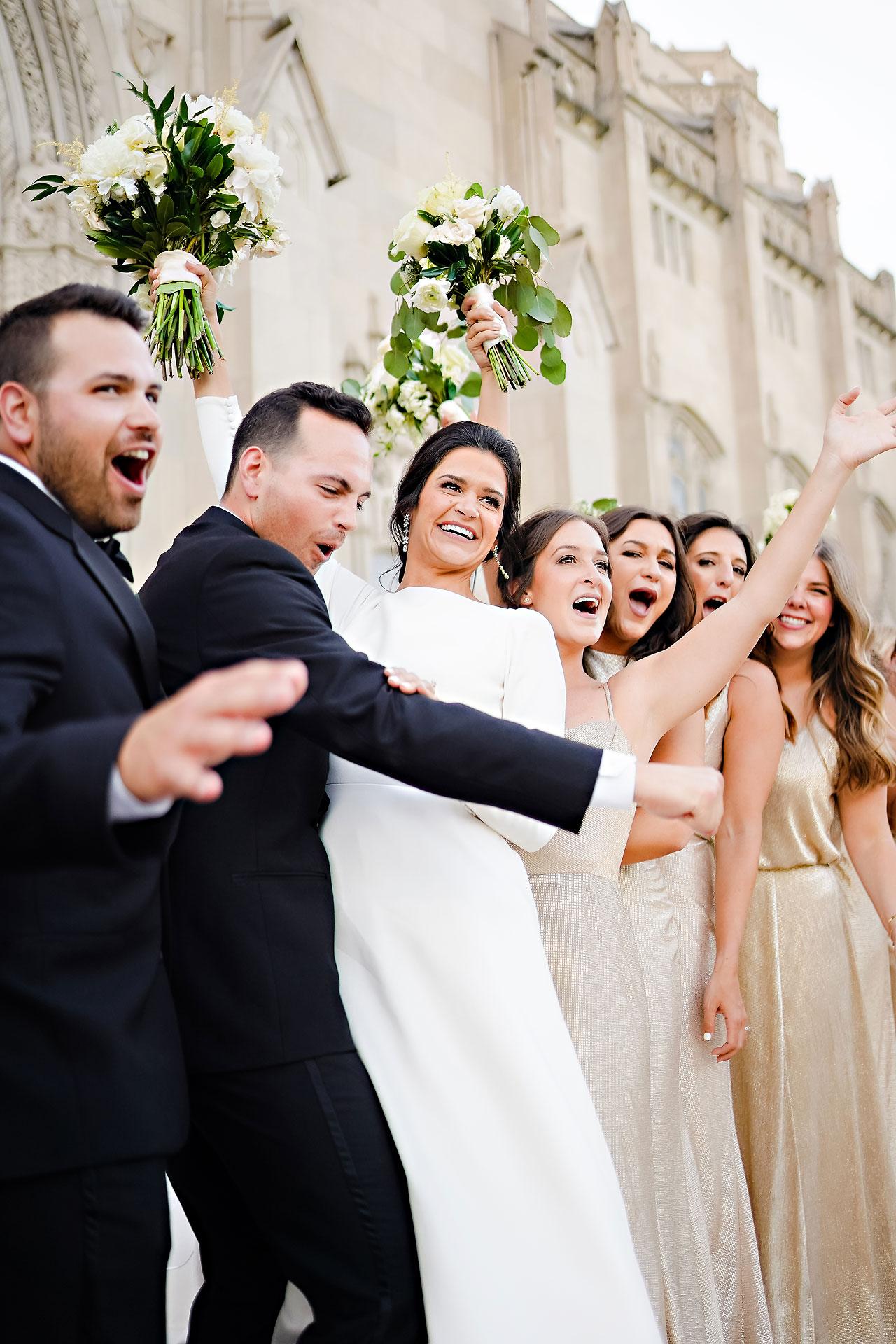 Kaitlin Collin Scottish Rite Indianapolis Wedding 224