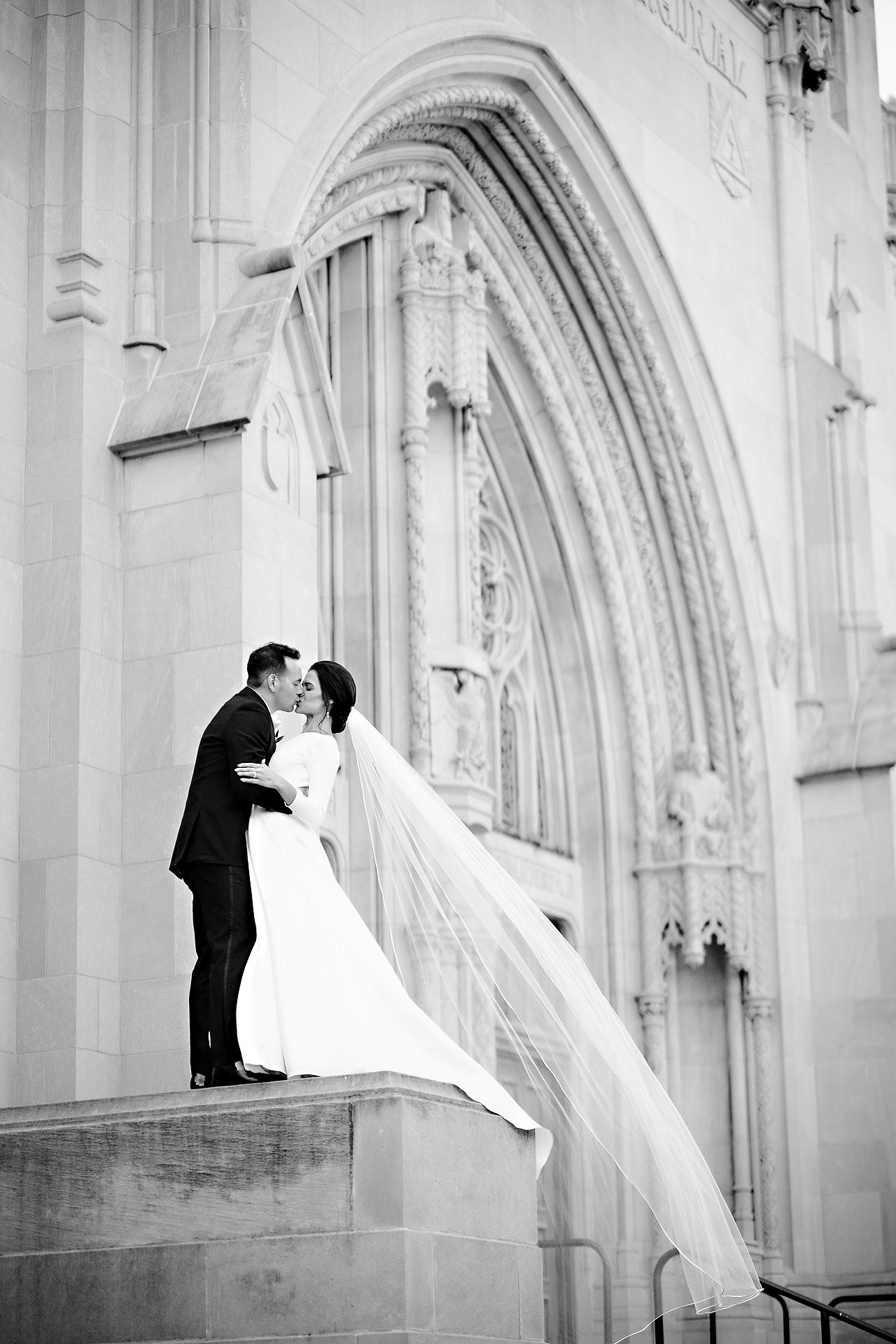Kaitlin Collin Scottish Rite Indianapolis Wedding 227