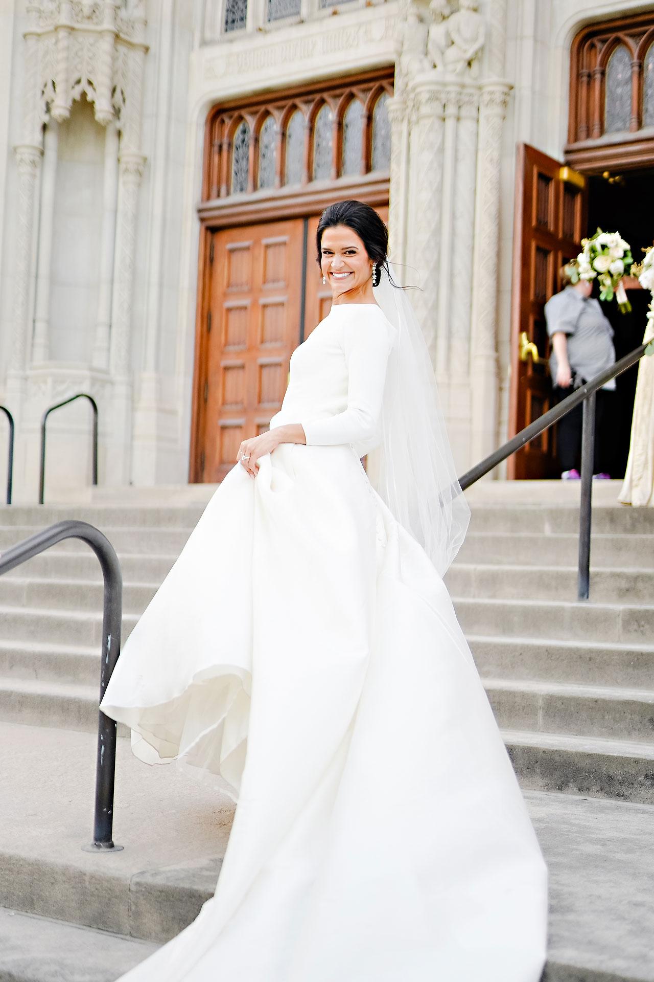 Kaitlin Collin Scottish Rite Indianapolis Wedding 235