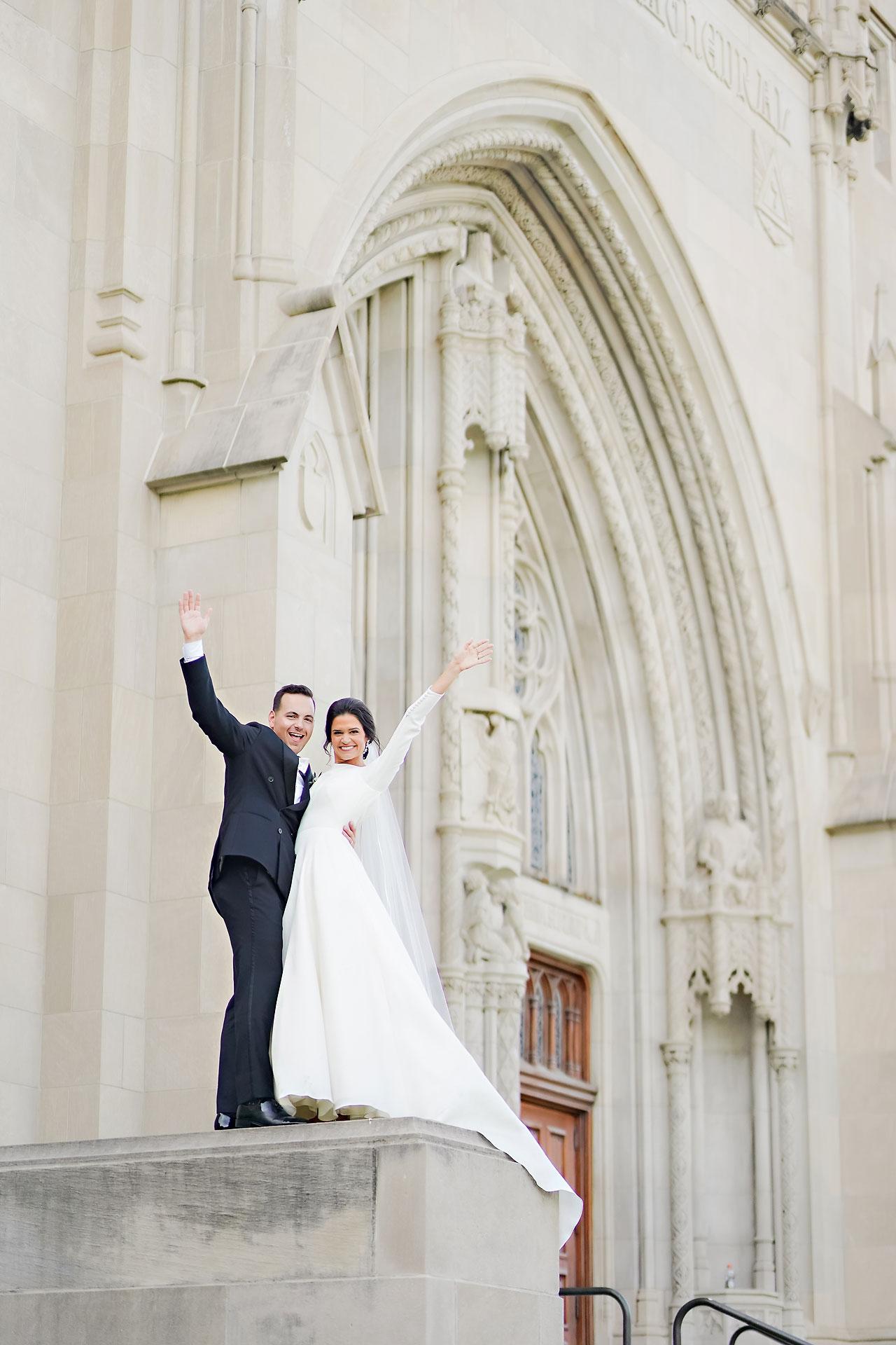 Kaitlin Collin Scottish Rite Indianapolis Wedding 236