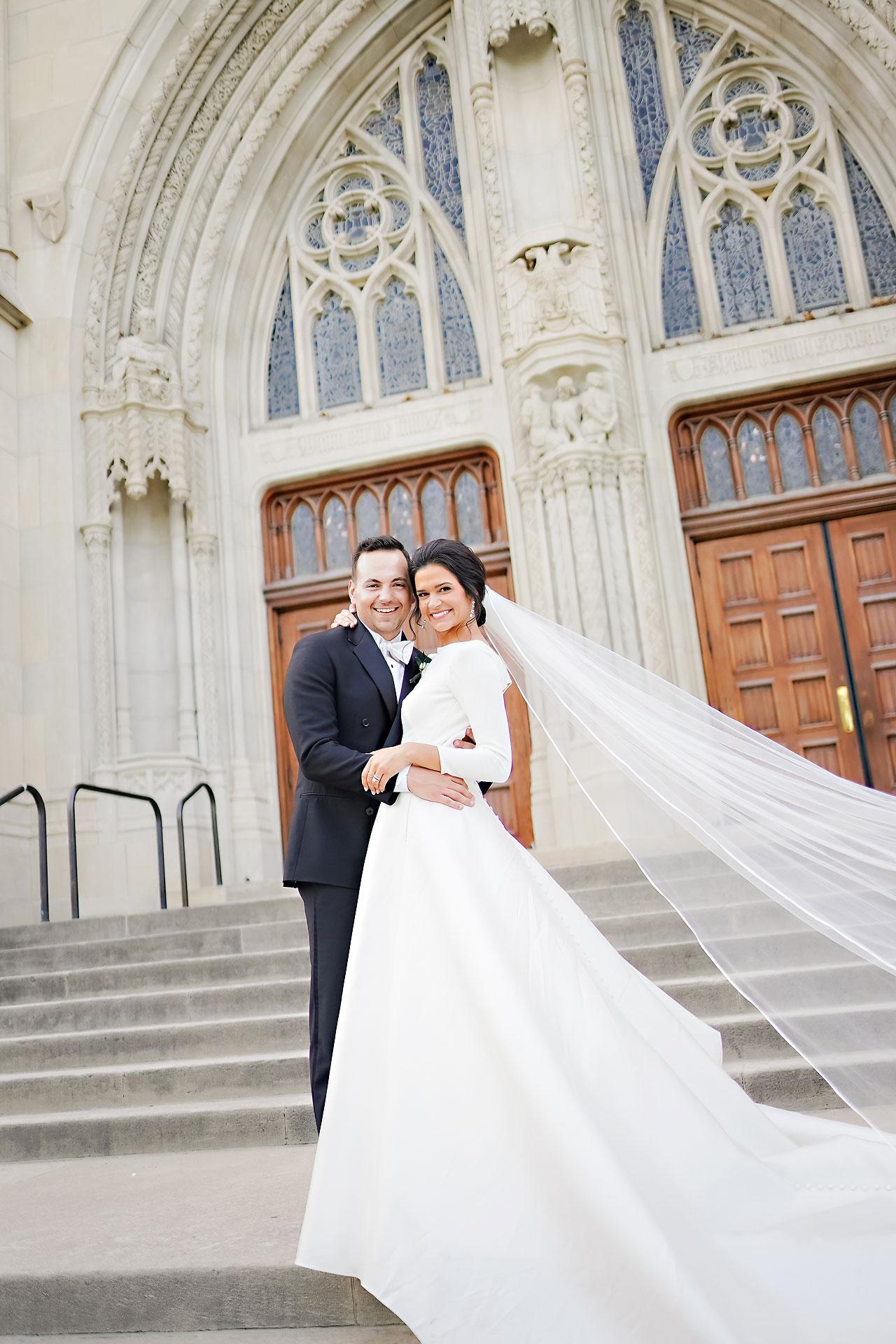 Kaitlin Collin Scottish Rite Indianapolis Wedding 238